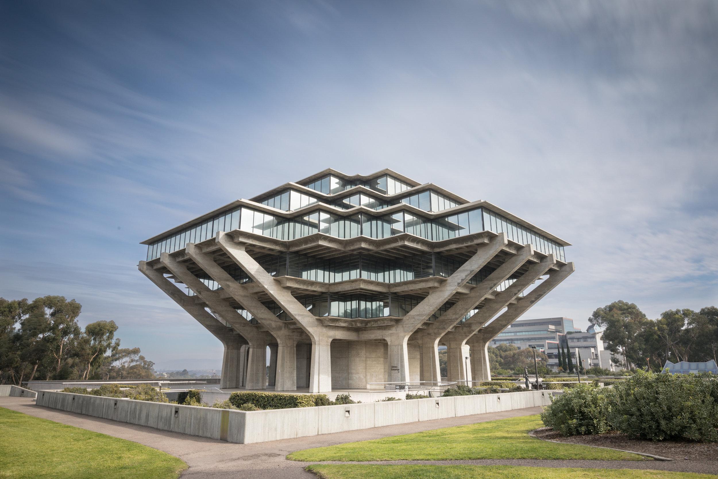 Geisel Library, UC San Diego, San Diego, California [January, 2018]