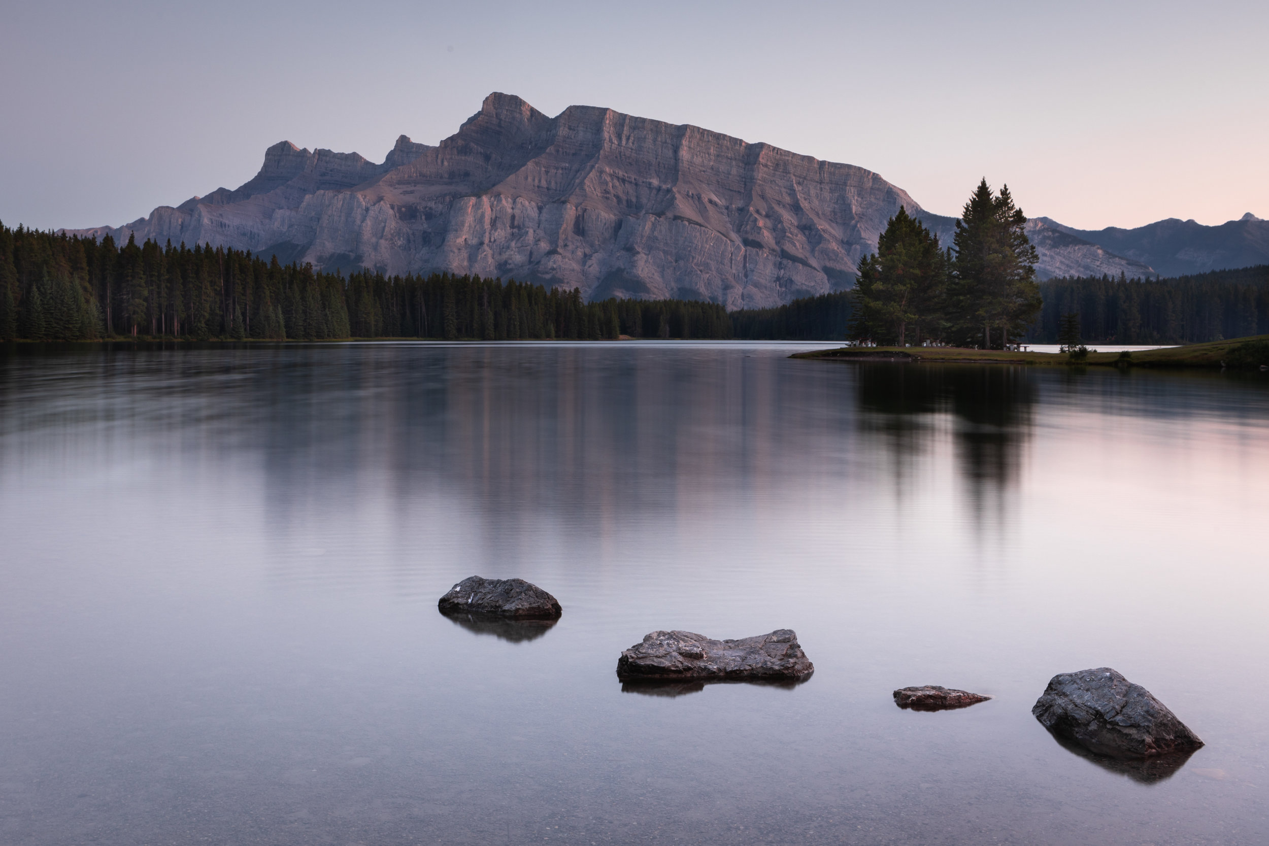 Two Jack Lake, Banff National Park, Alberta [September, 2019}