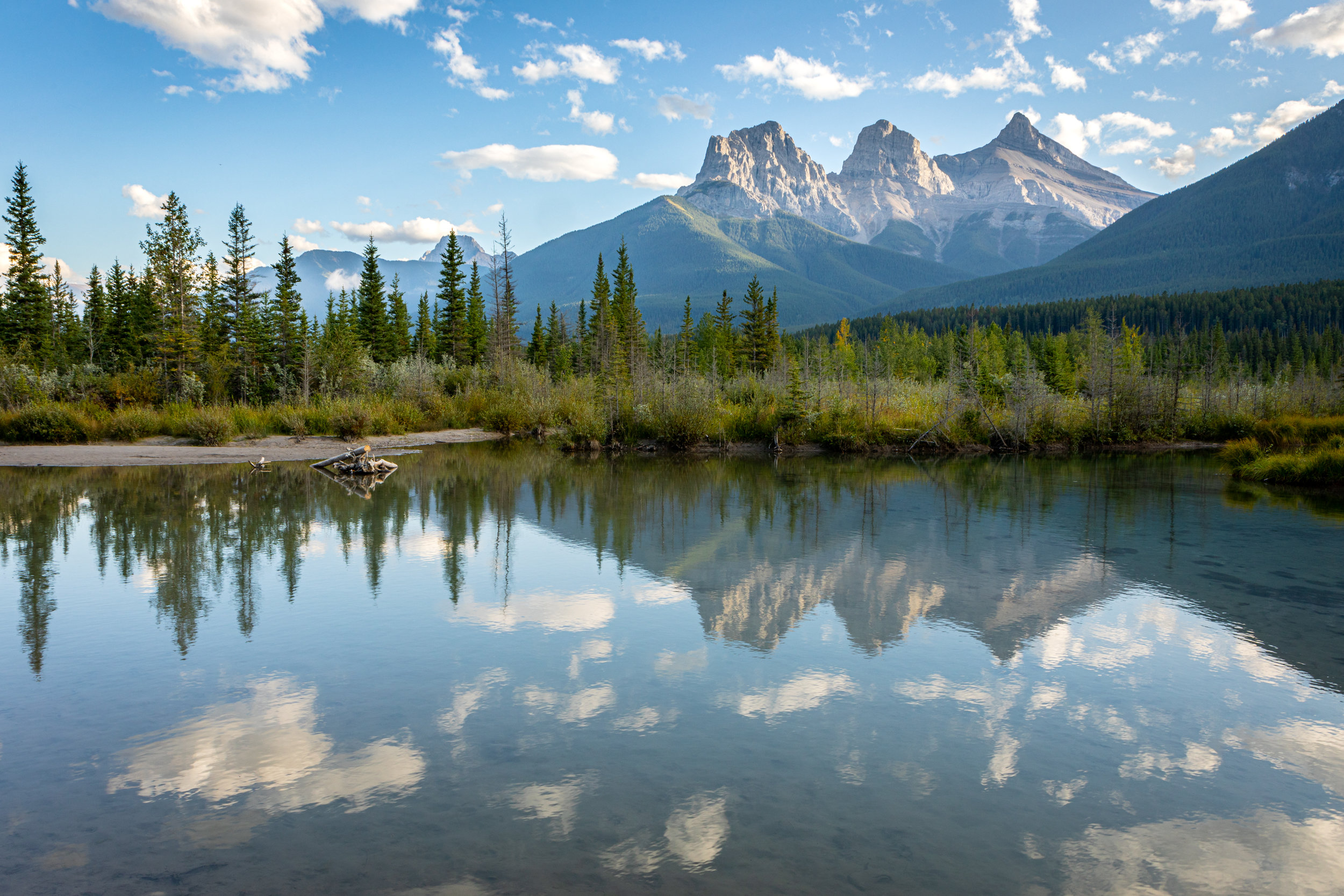 Three Sisters, Canmore, Alberta [September, 2019]