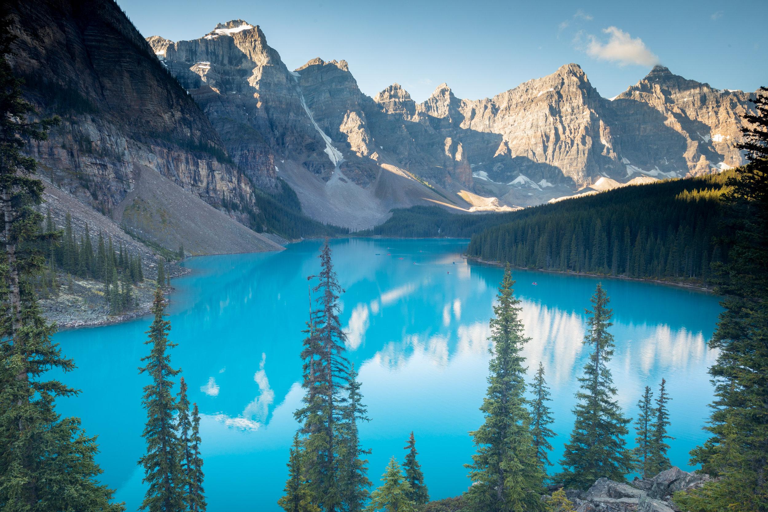 Moraine Lake, Banff National Park, Alberta [September, 2019]