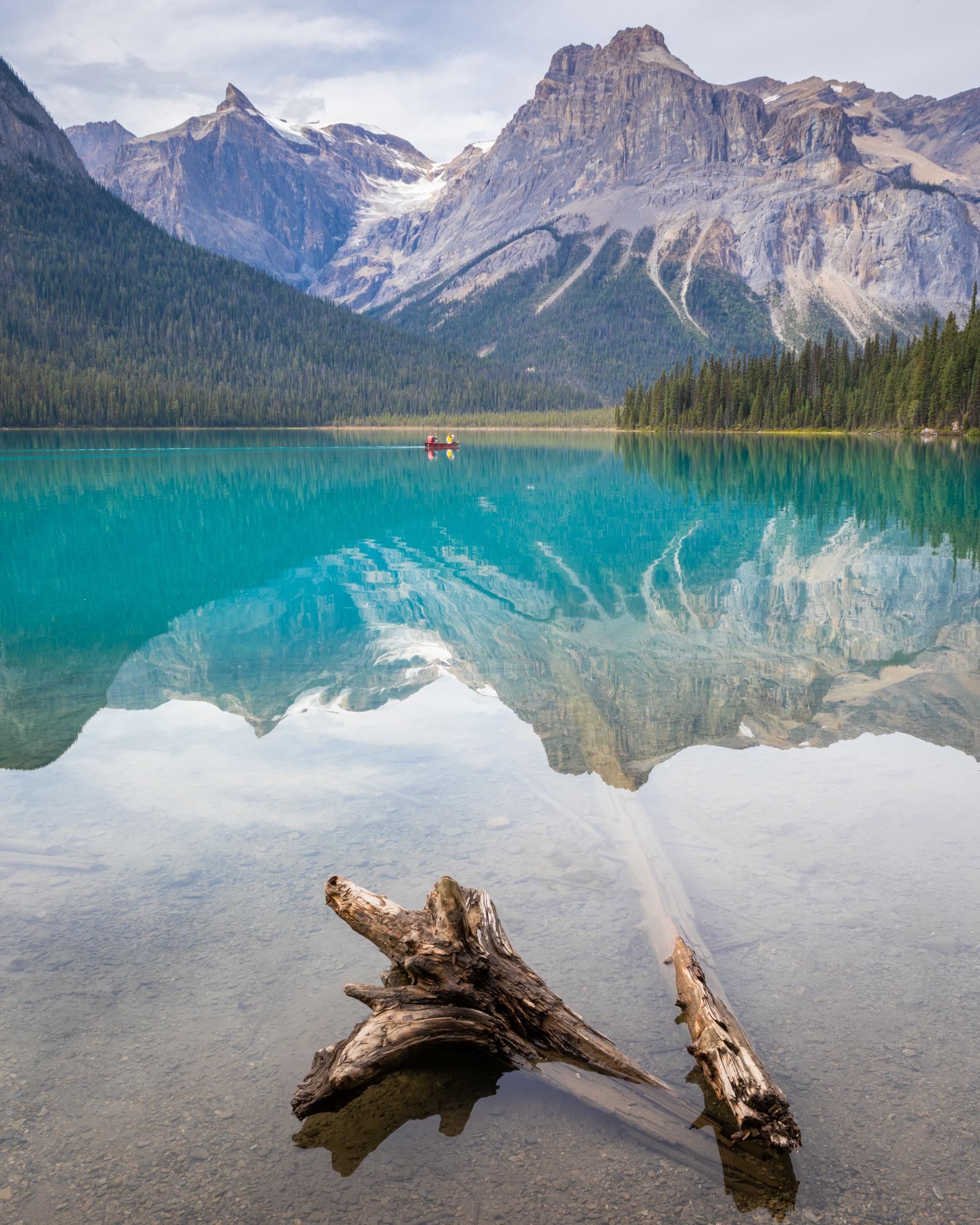 Emerald Lake, Yoho National Park, British Columbia [September, 2019]