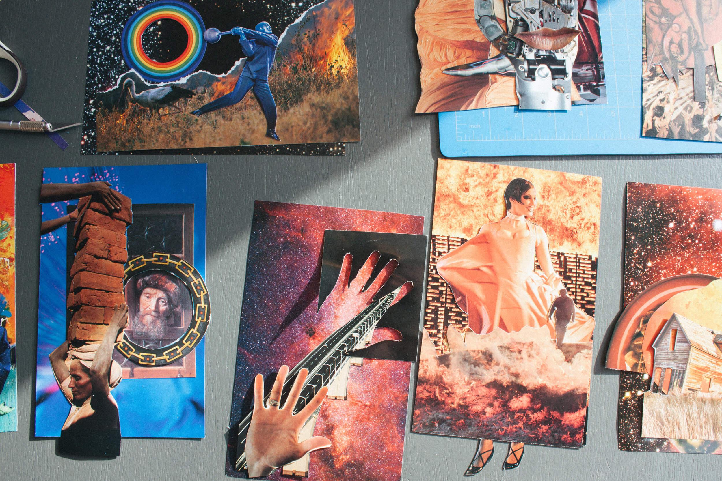 Soul Collage Trischler