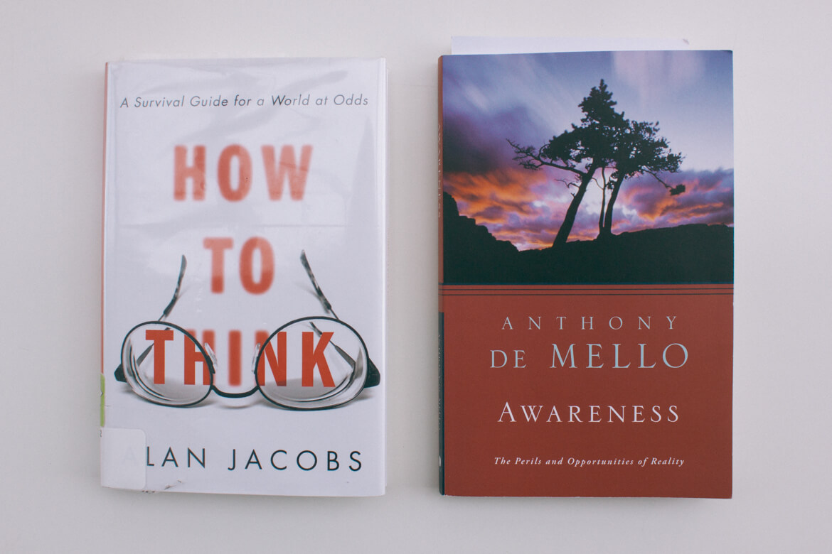Book Cocktail – How To Think + Awareness