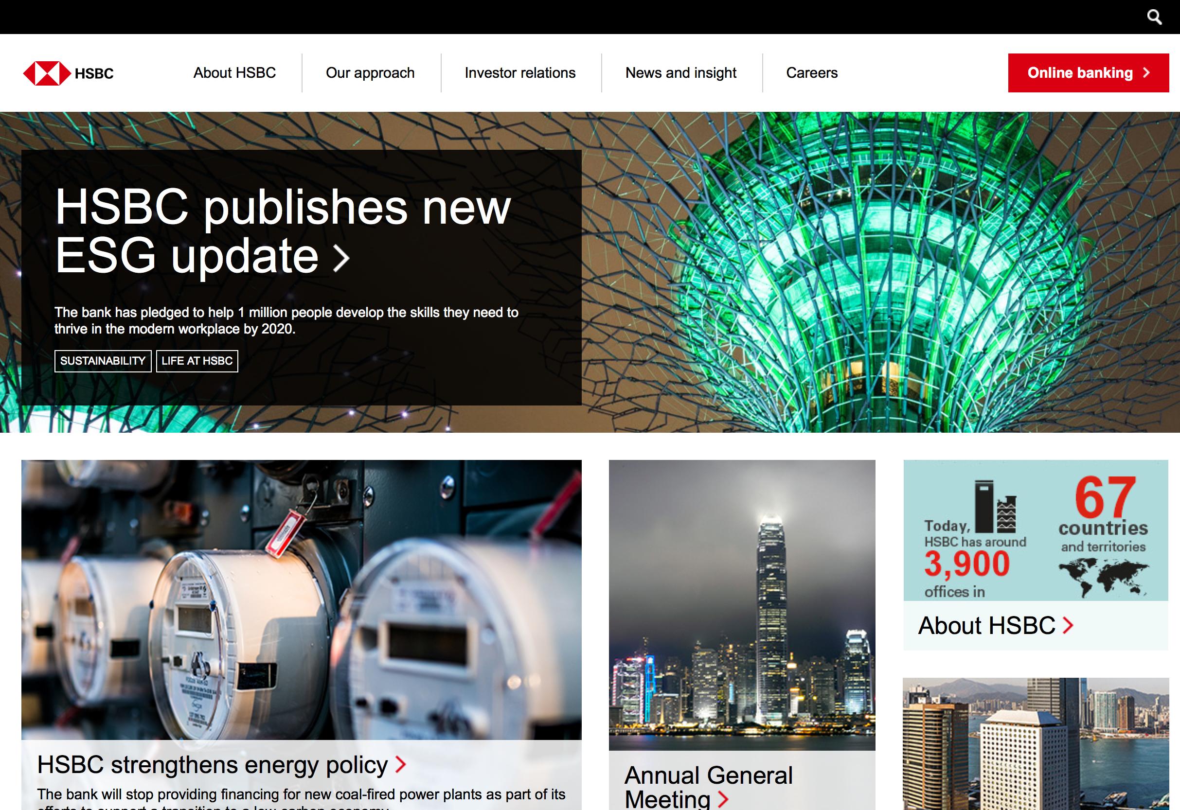 HSBC Website