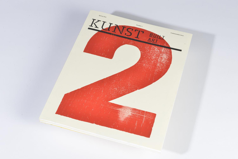 Kunst Magazine Design Building Restoration Brand Identity