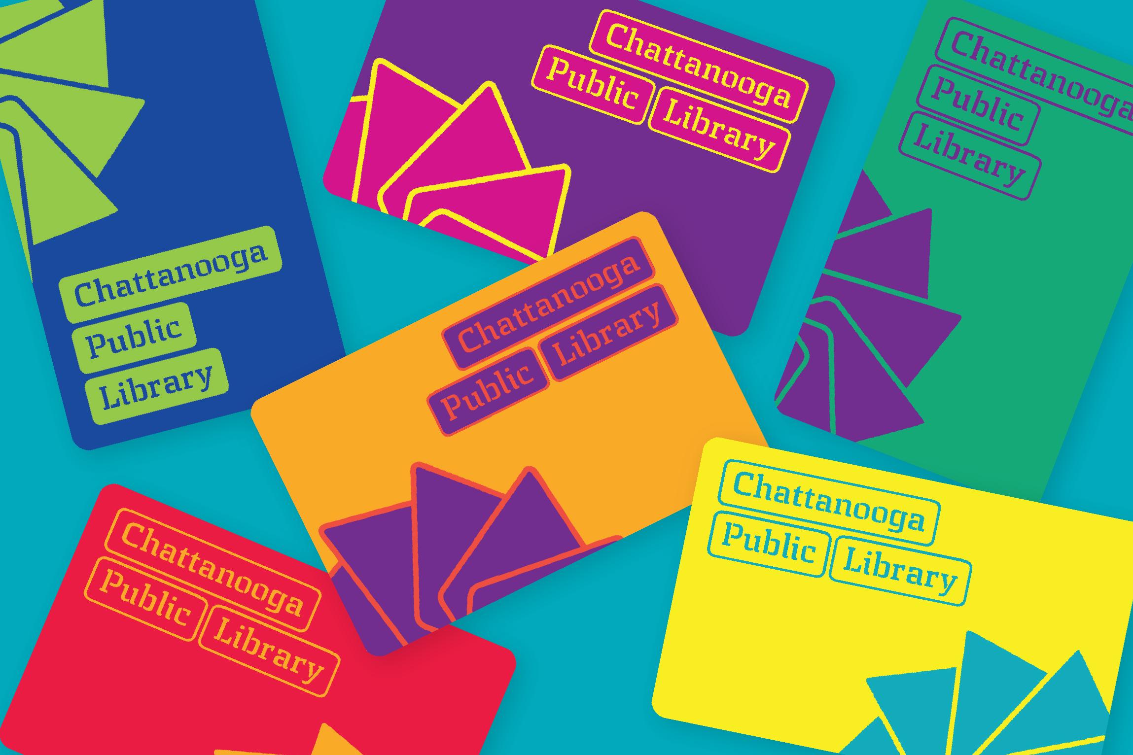 Chattanooga Public Library Brand Identity Design