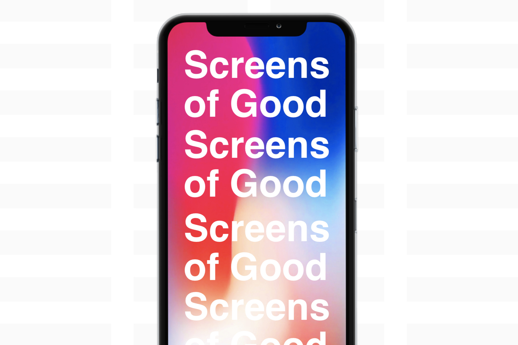 Screens of Good University of Cincinnati DAAP 2018