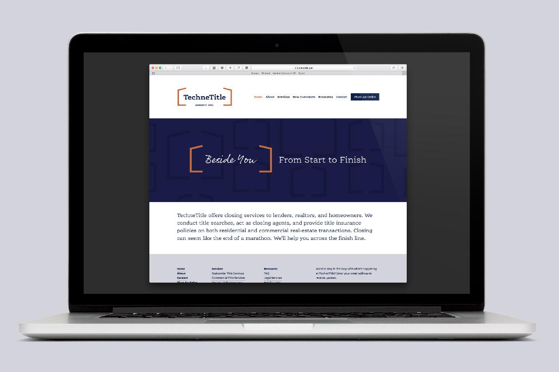 Technetitle Website Design