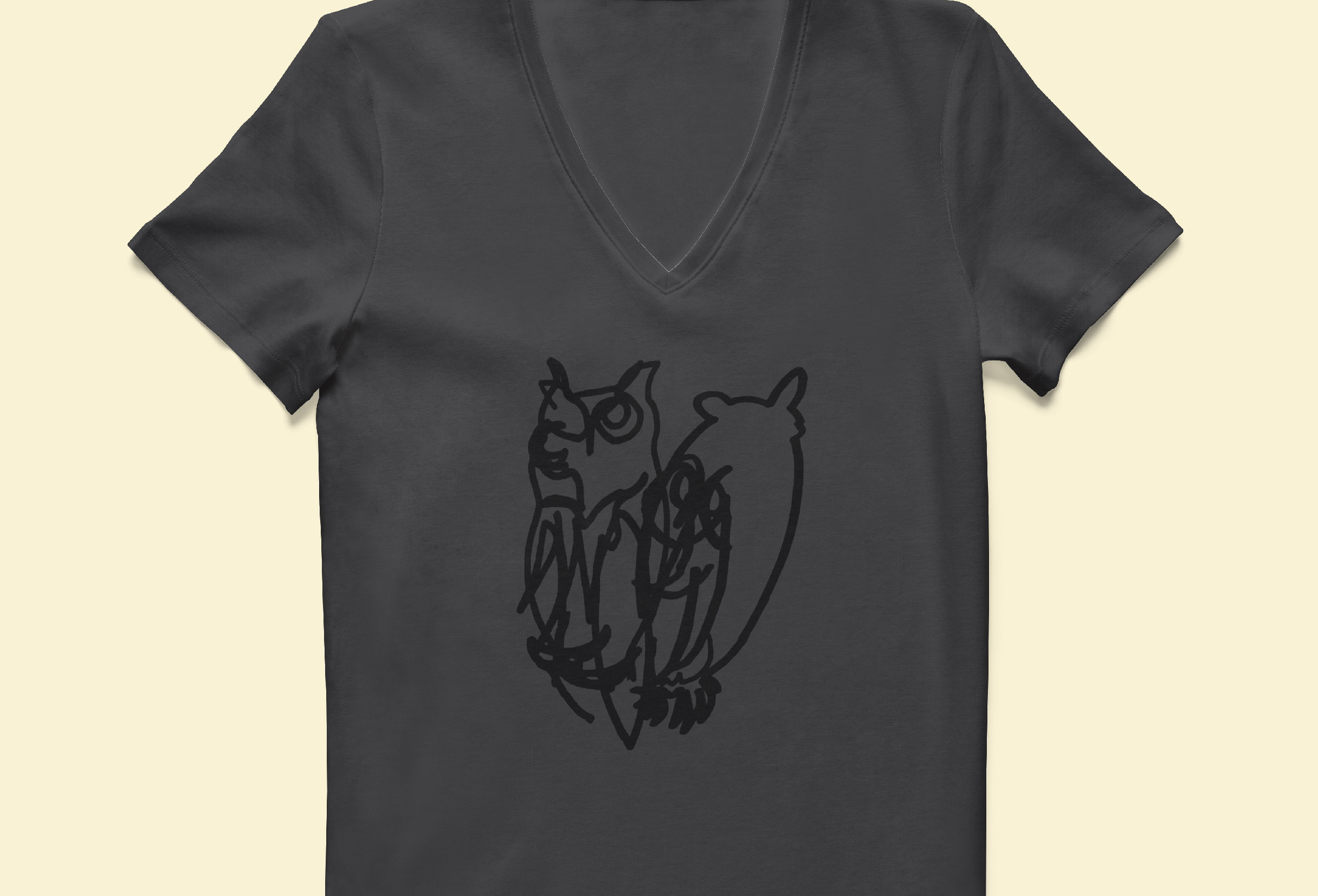 The Owls on Staff Shirts.