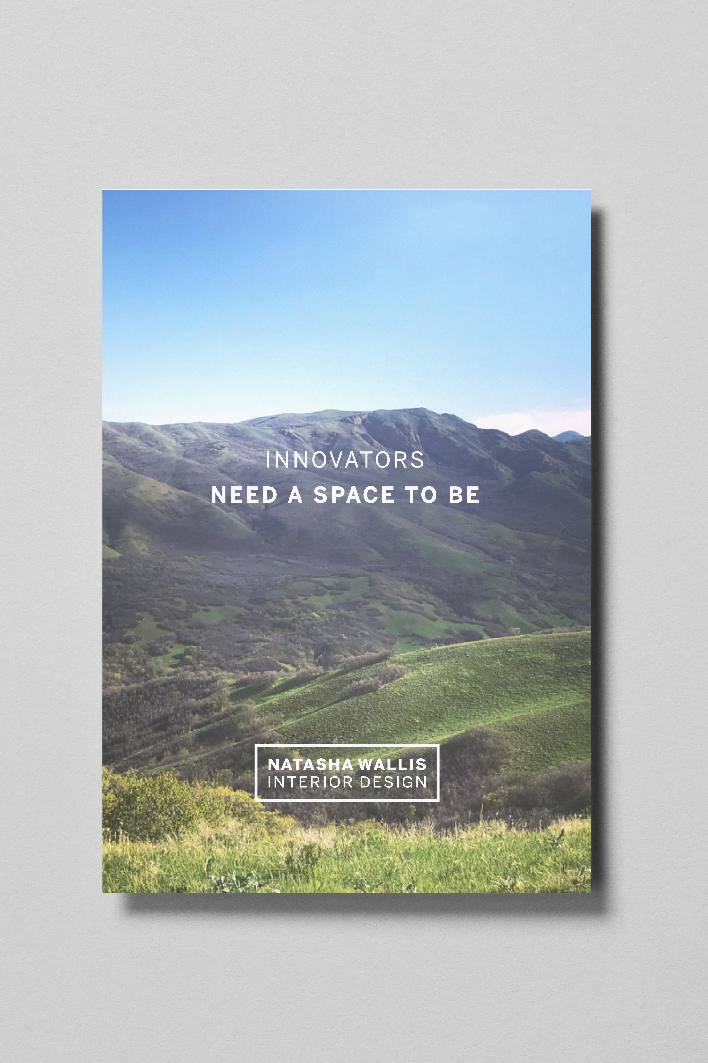 Innovators need a space to be.