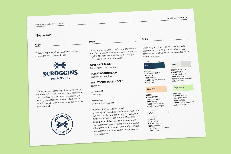 Scroggins Brand Identity Guidelines