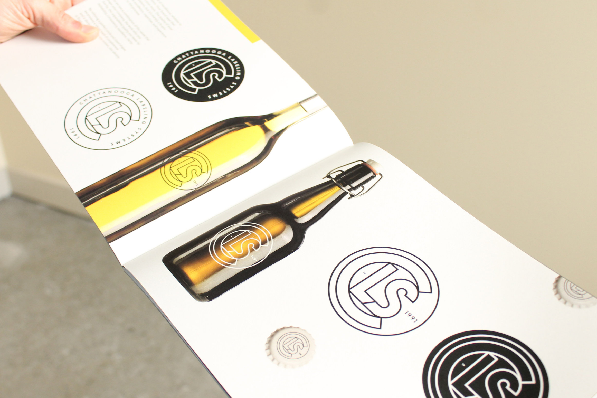 Chattanooga Labeling Systems Brand Identity Guidelines
