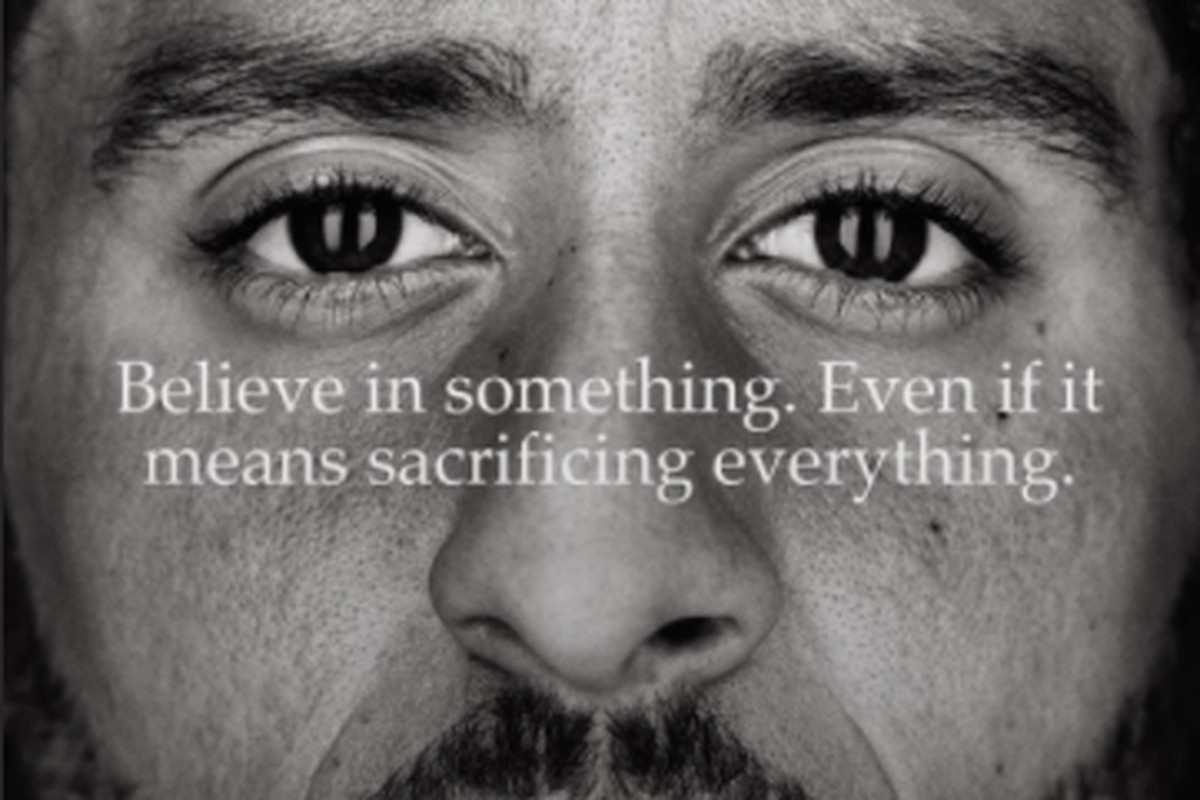 Nike Ad featuring Colin Kaepernick