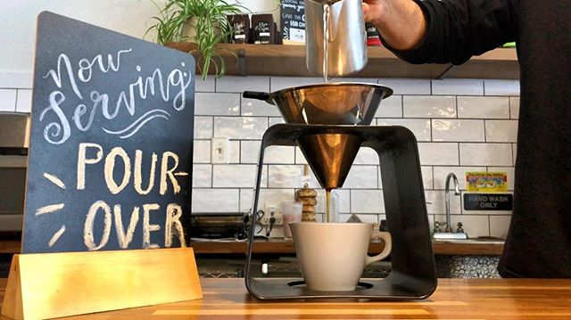 Pour-over 🤤