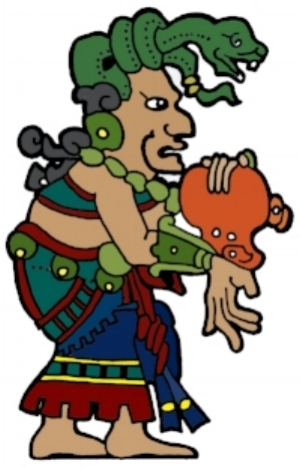 The Maya goddess Ixchel (image credit: Motherhouse of the Goddess)