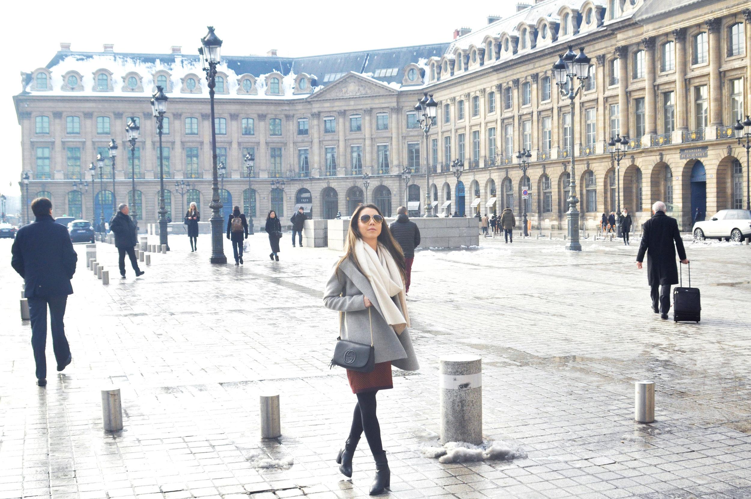 Place Vendome in Paris