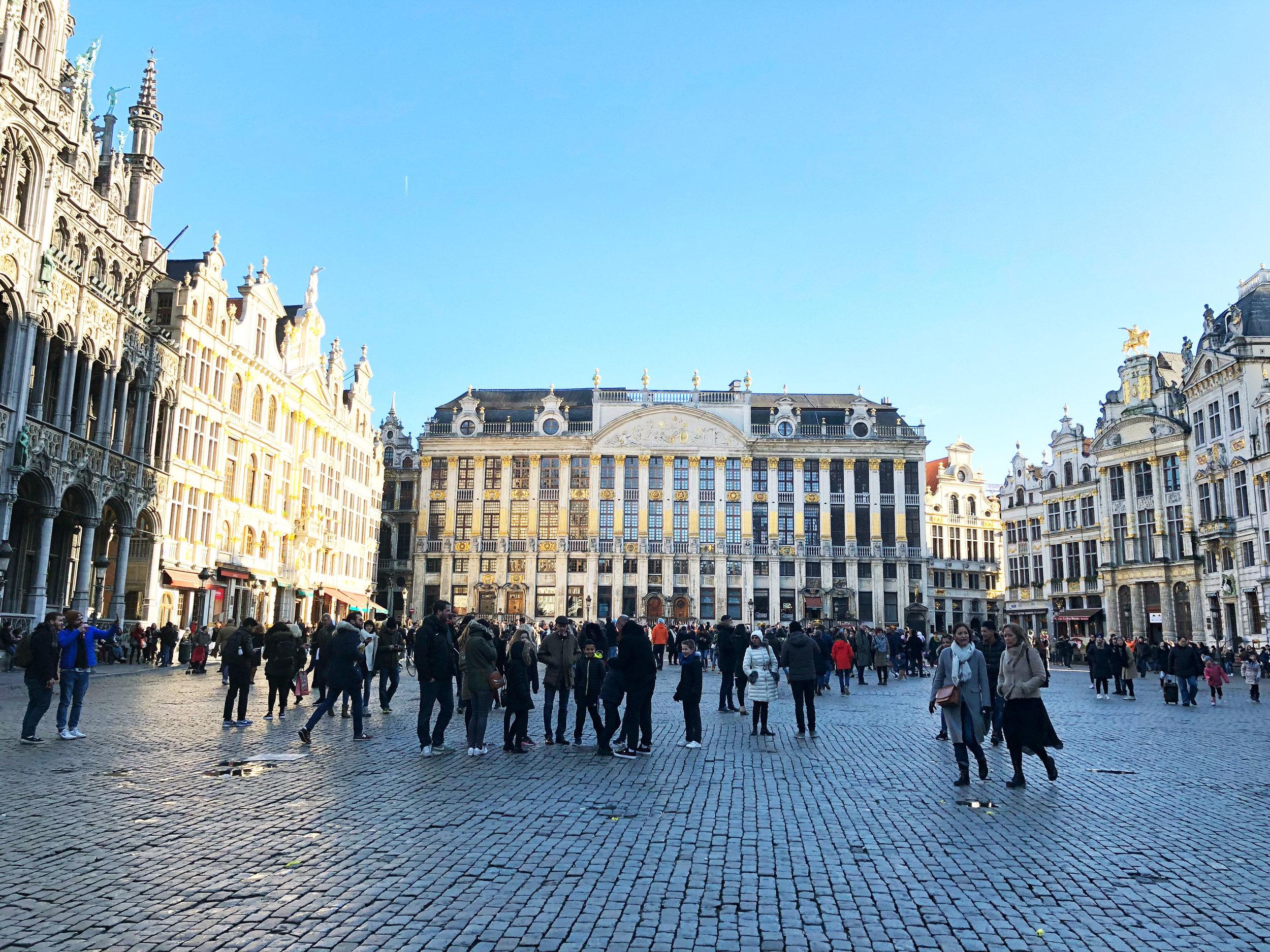 La Grand Place in Brussels, Belgium