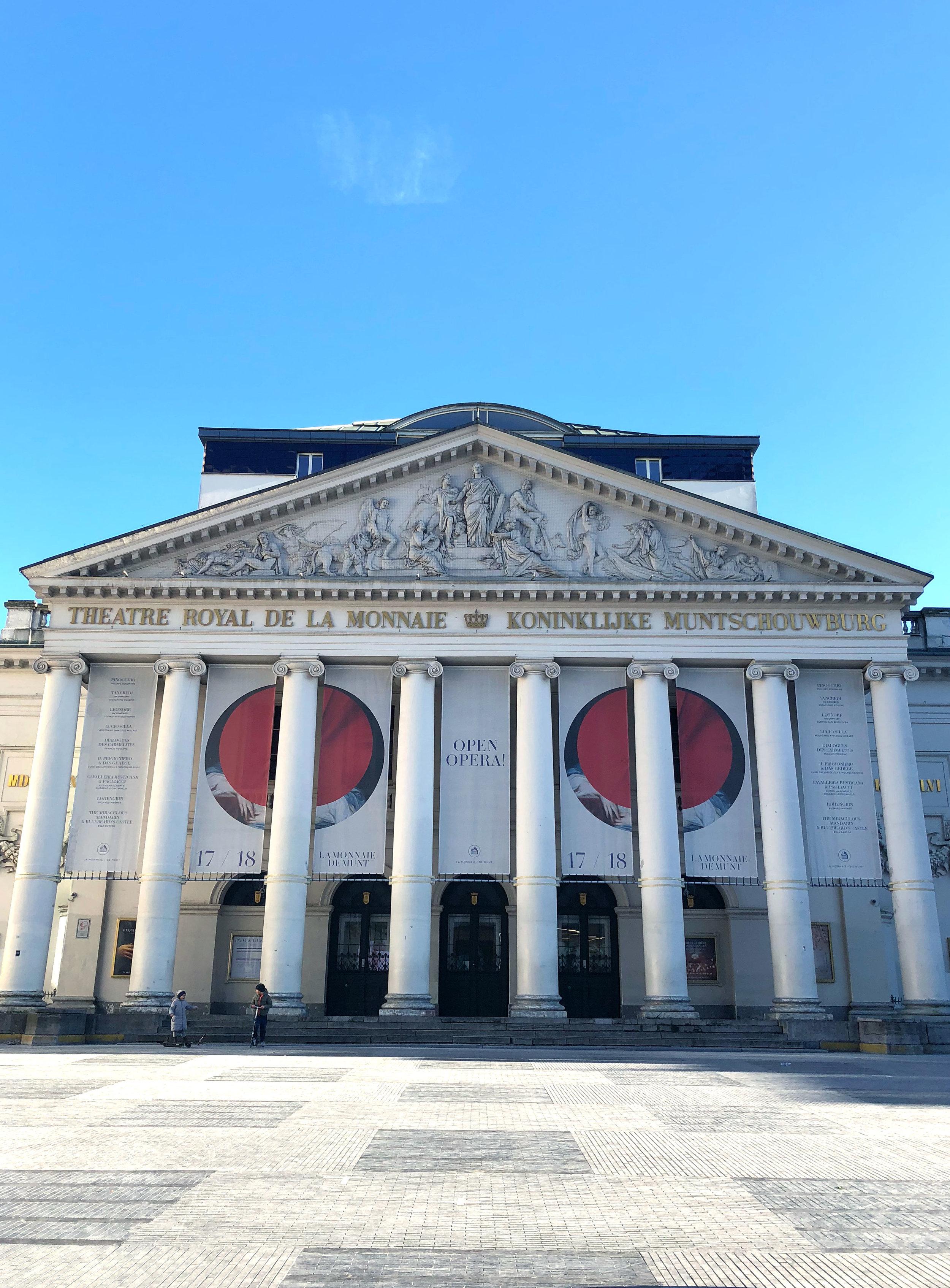 La Monnaie Opera House, Brussels