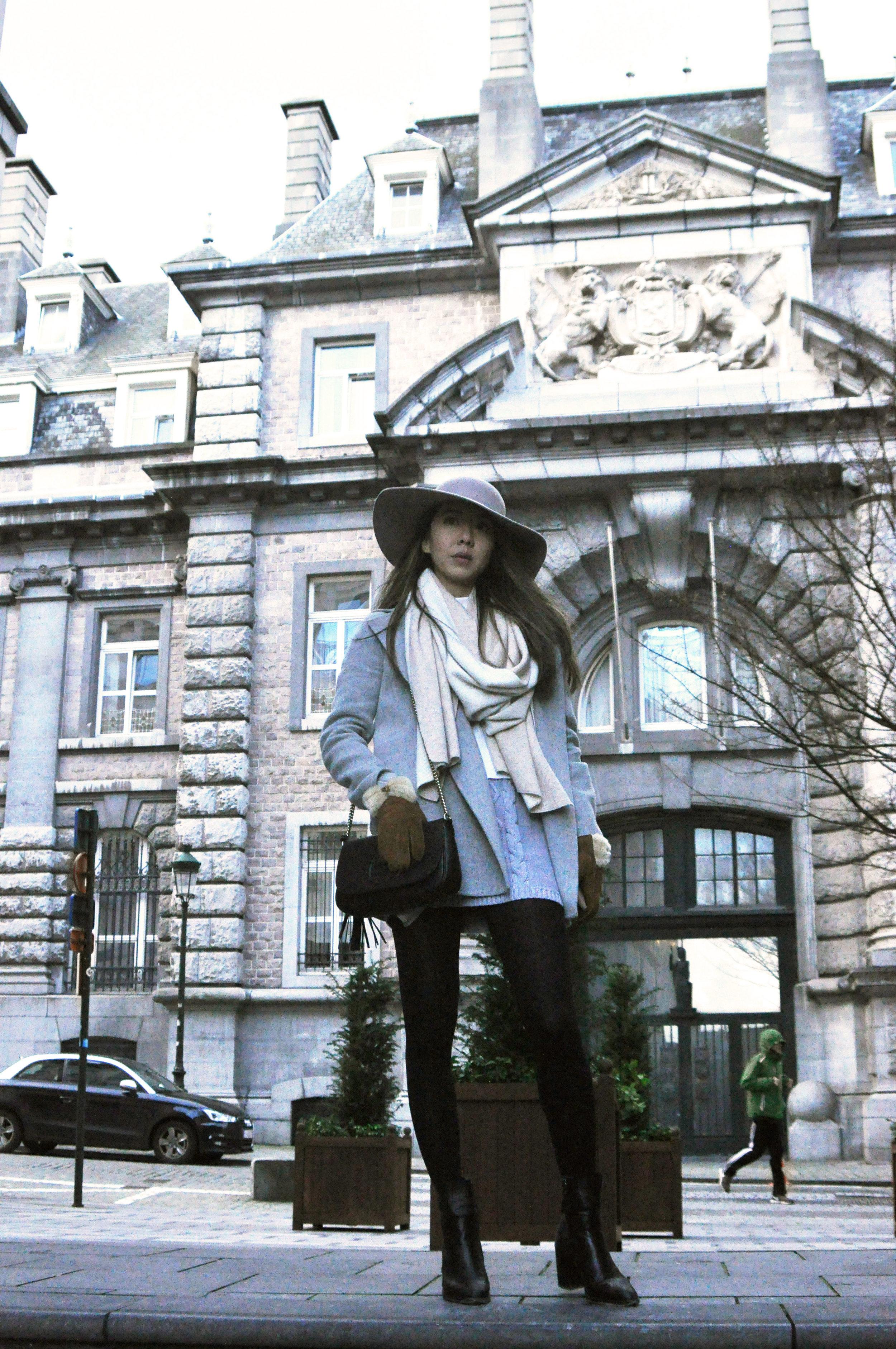 Handmade hat by La Chapeliere in Brussels