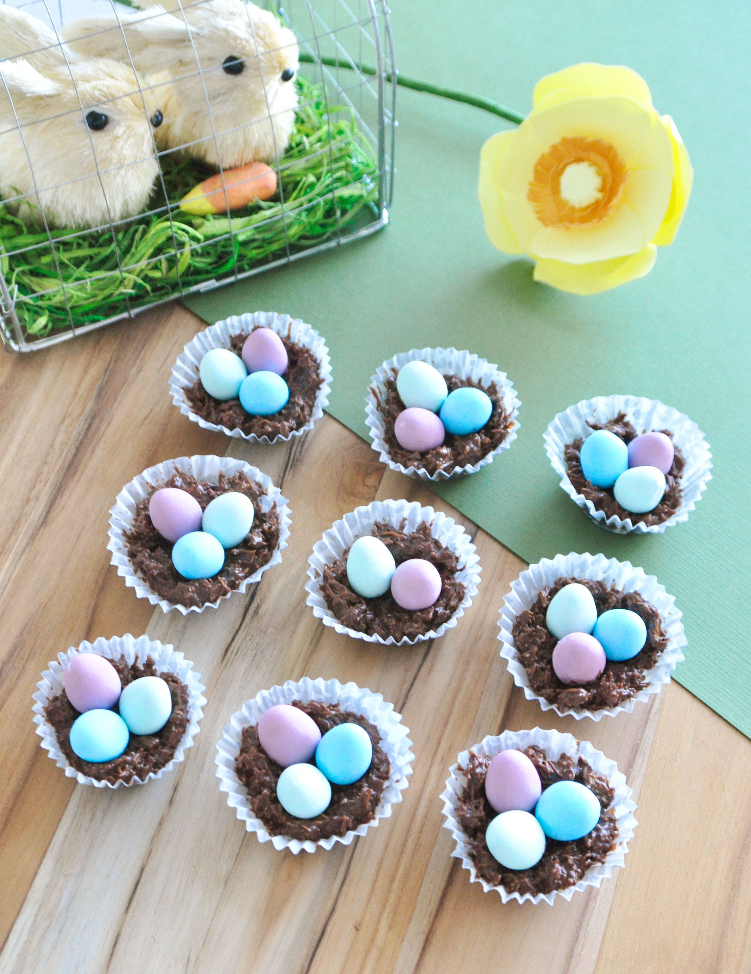 How To; ChocolateEaster Nests - 03.29.18