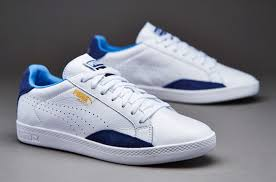 Puma Match Lo Classics in White/Blue