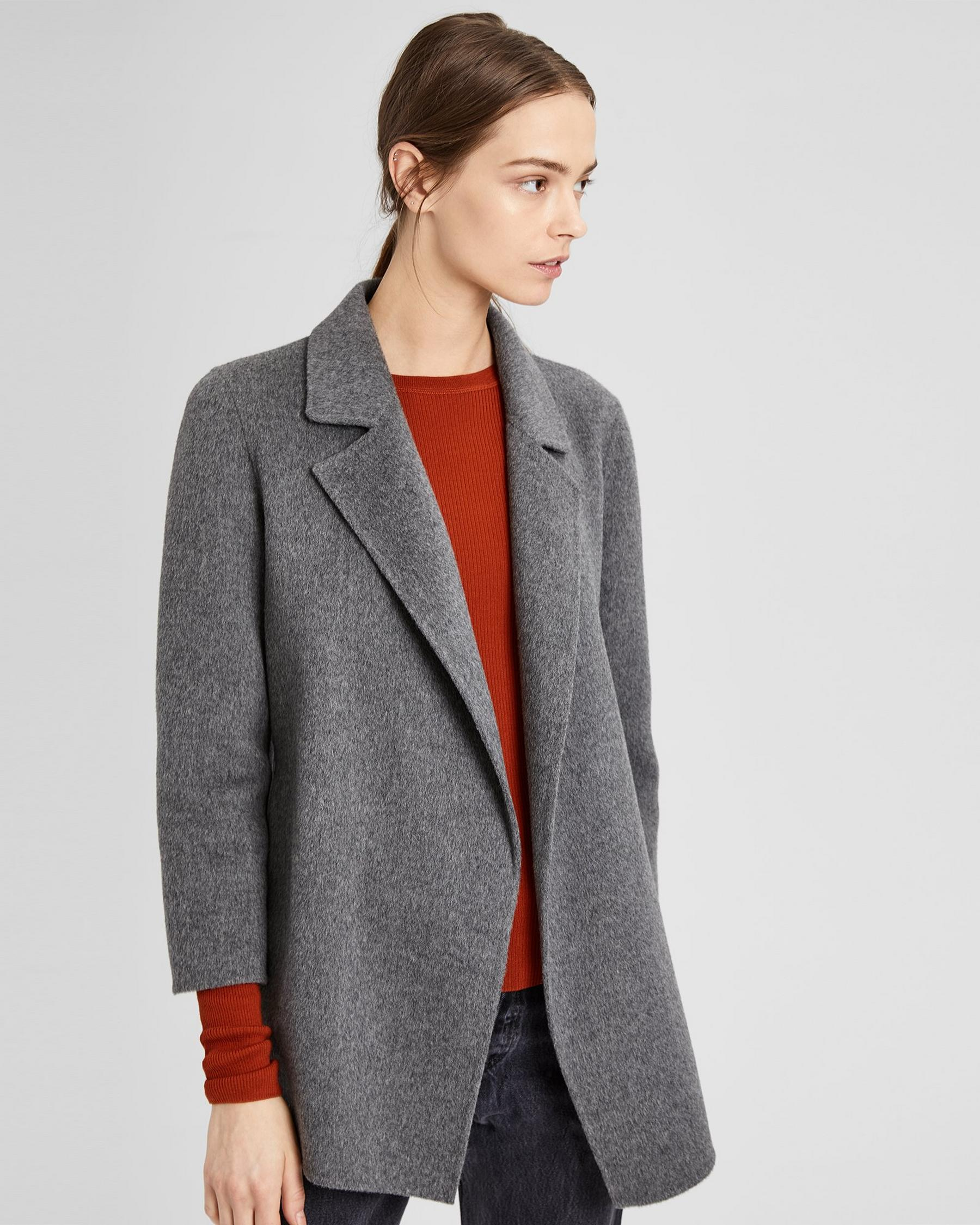 Theory Gray Wool Jacket