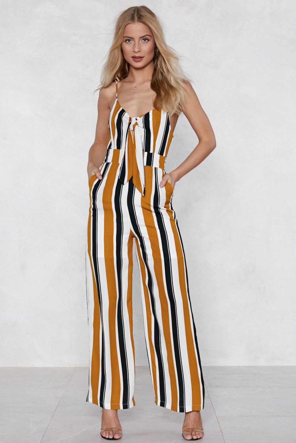 If The Stripe is Right Jumpsuit