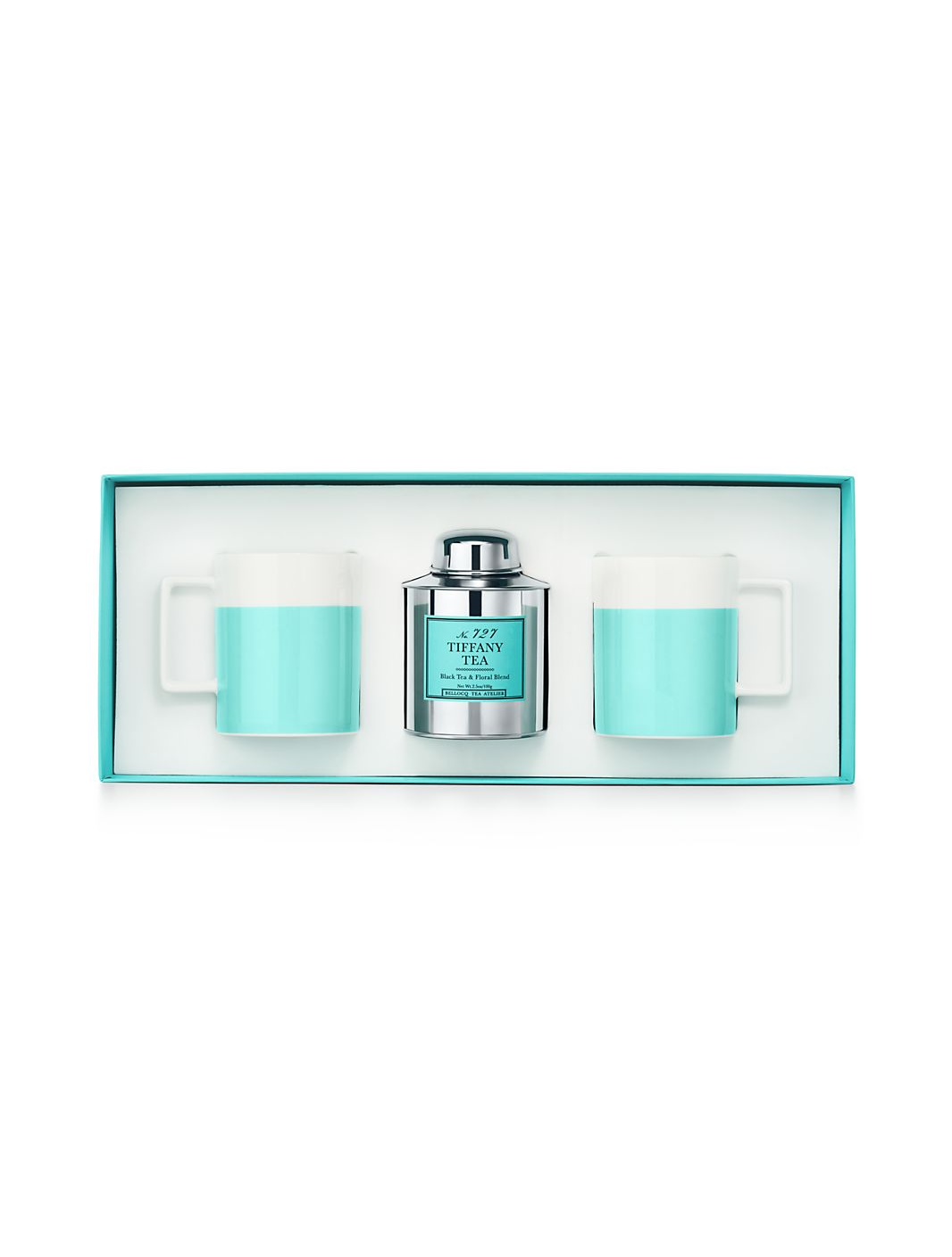 Color Block Tea Set $150