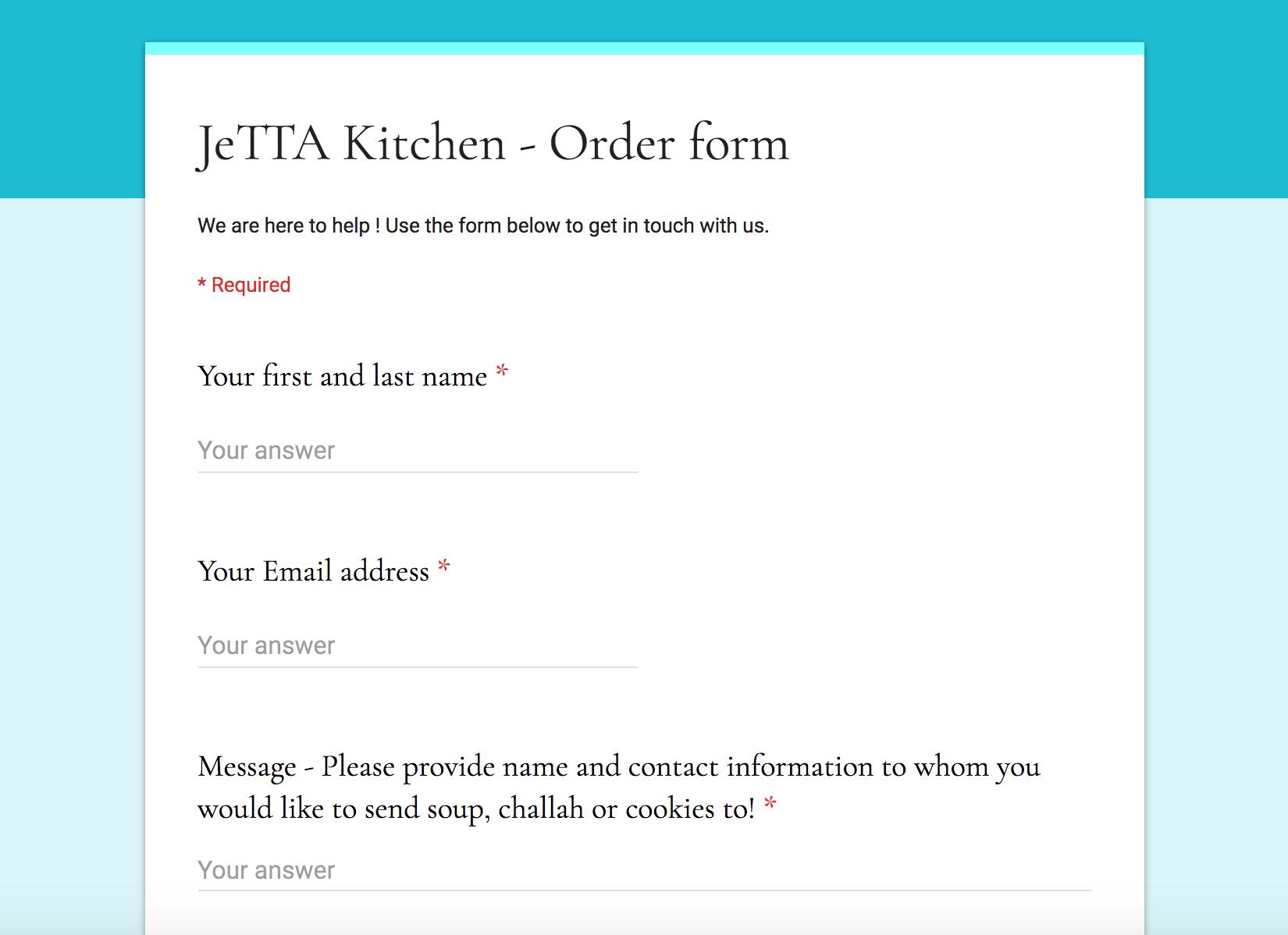 Jetta Kitchen