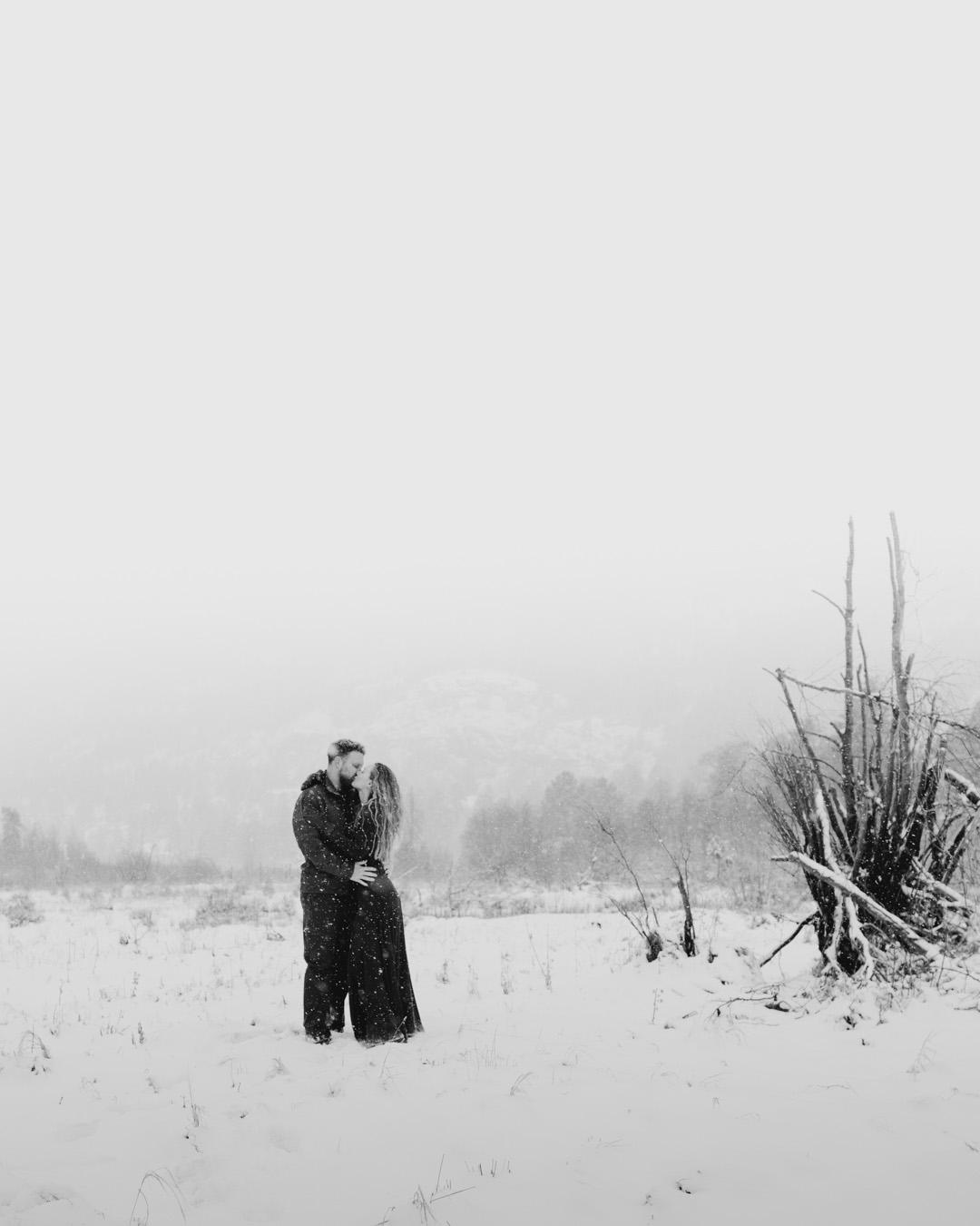 Lindsey & George @ Rocky Mountains NP, Colorado