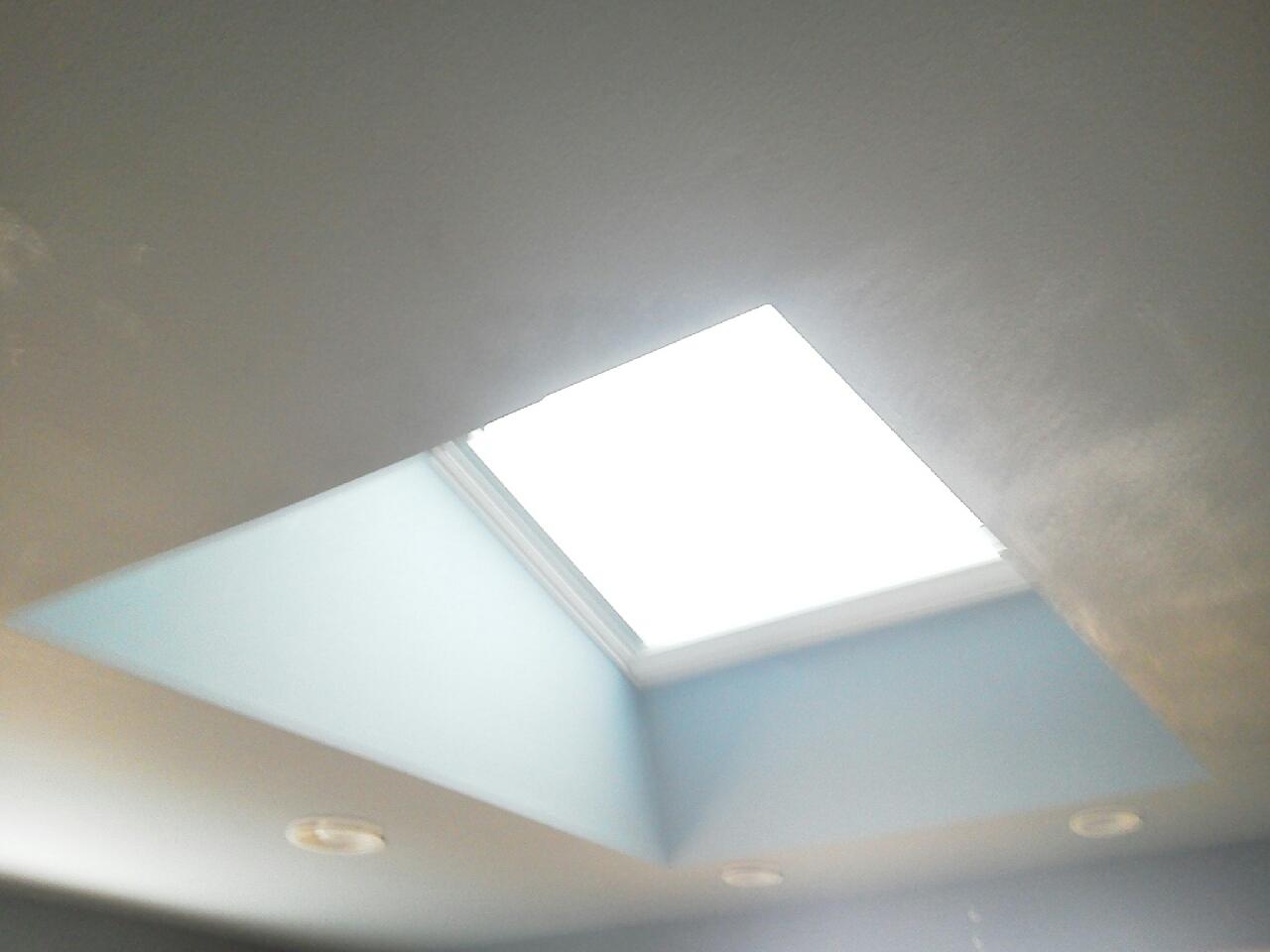 4x4 Bathroom-Flat Ceiling