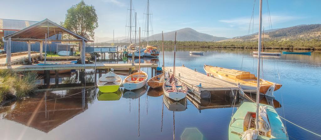 The Wooden Boat Centre Franklin, Tasmania