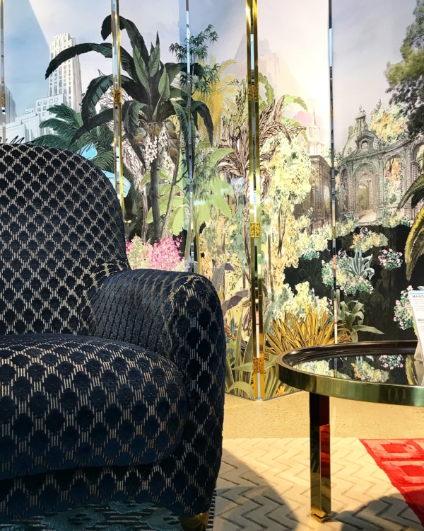 from the Roche Bobois showroom in Pasadena, CA