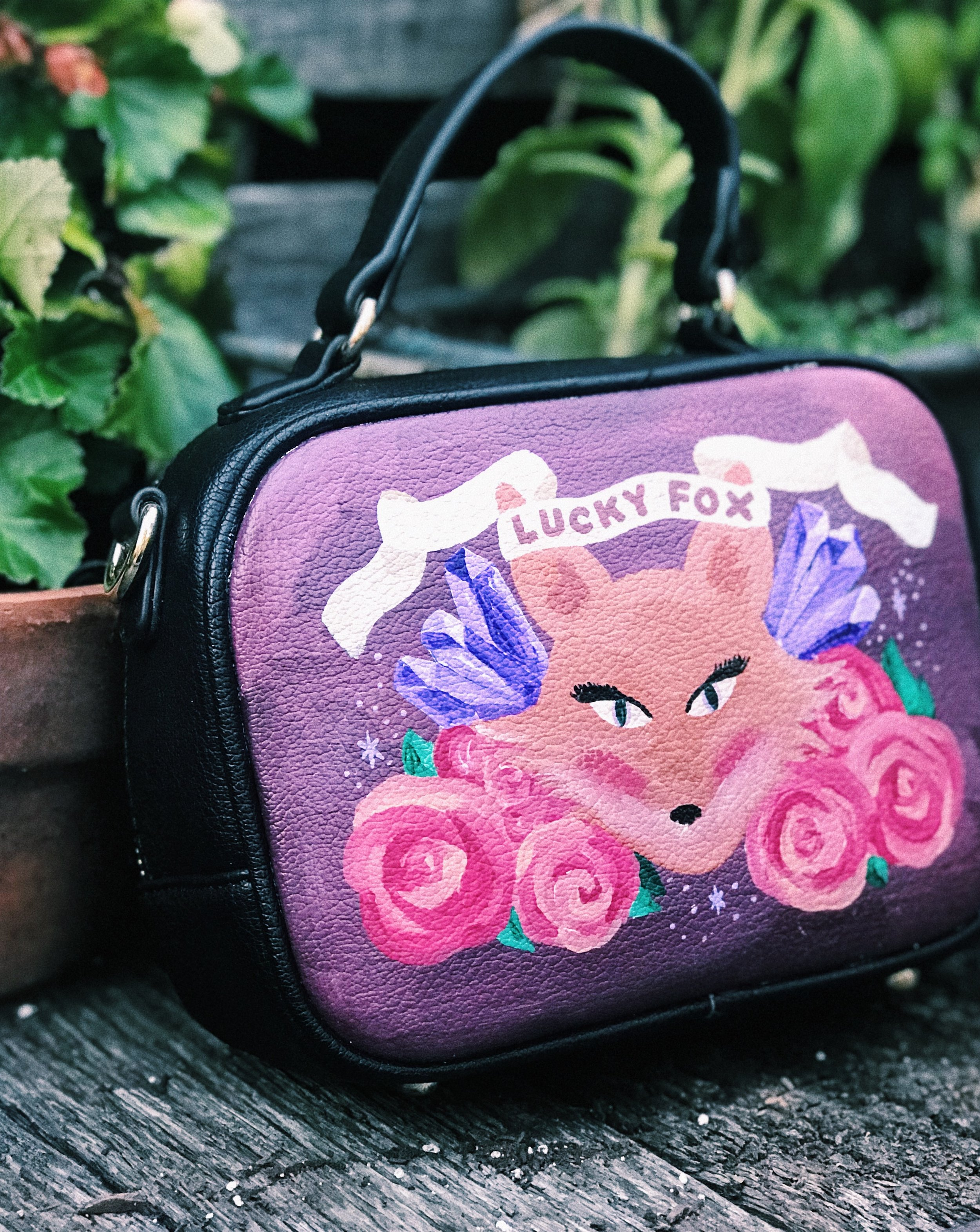 lucky fox ny purse - 3/3 bags I customized for 3 babes KILLING their side hustle. Check out Lucky Fox NY apothecary + jewlery!