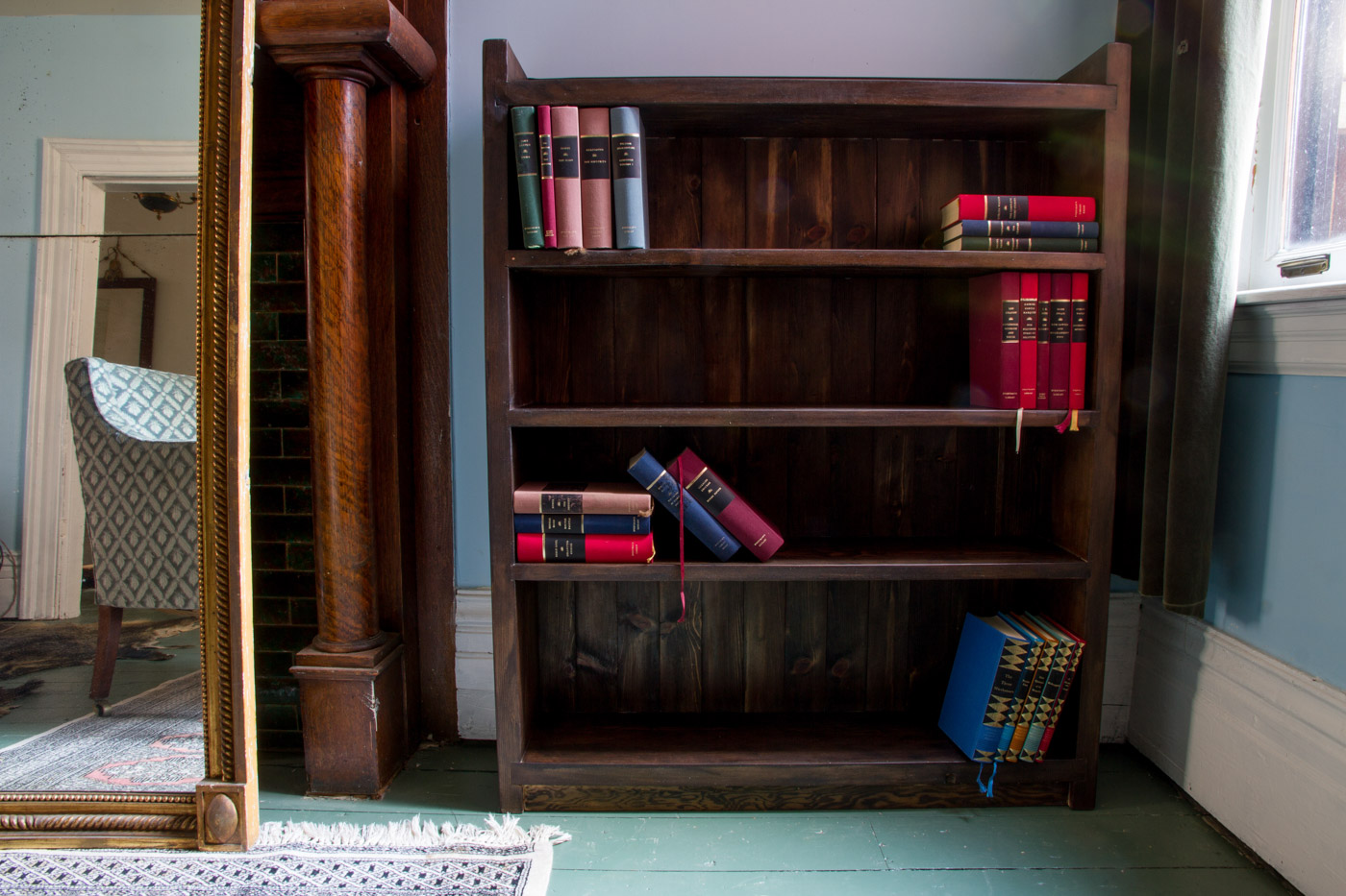 BeReclaimed - Reclaimed Wood Furniture - Cypress Bookshelf - Cabbagetown Toronto.jpg