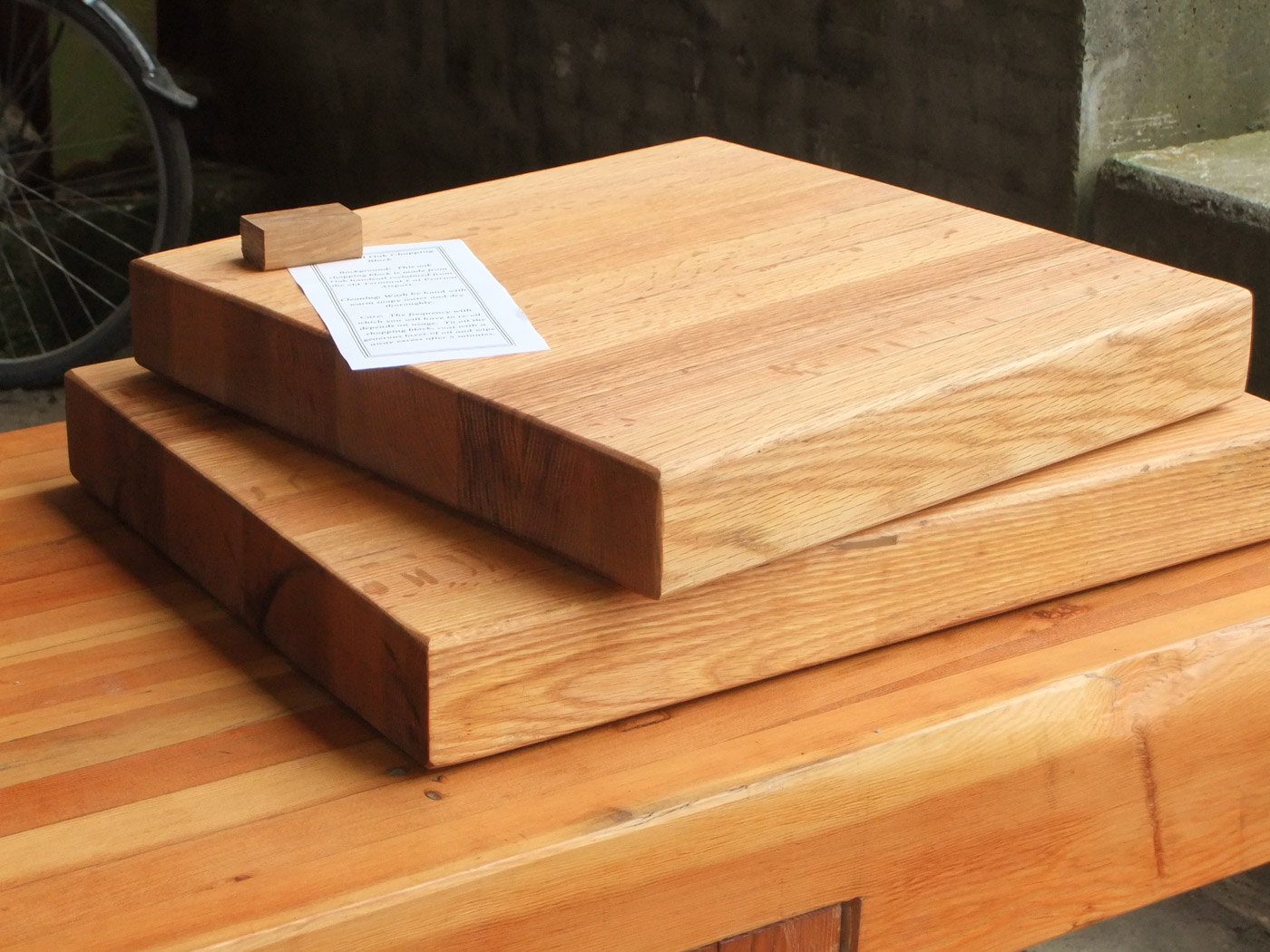 BeReclaimed -  Reclaimed Oak Butcher Block - Wood Salvaged from Pearson Airport Toronto.jpg