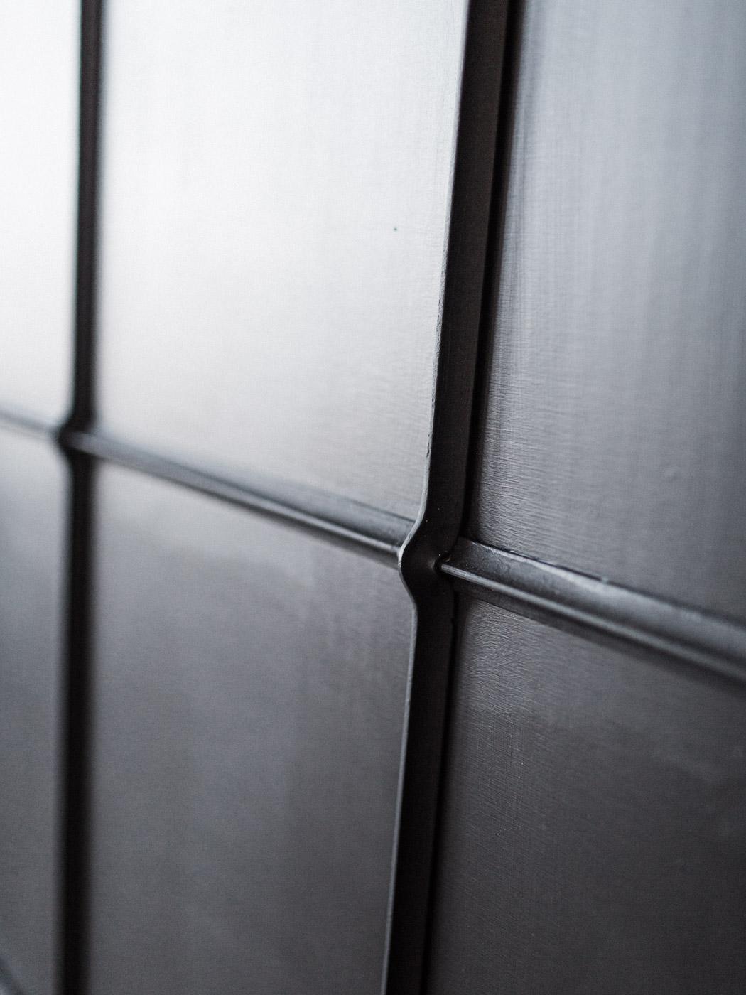 BeReclaimed - Custom Industrial Salvage Black Board - Cast Iron Window Detail Shot.jpg