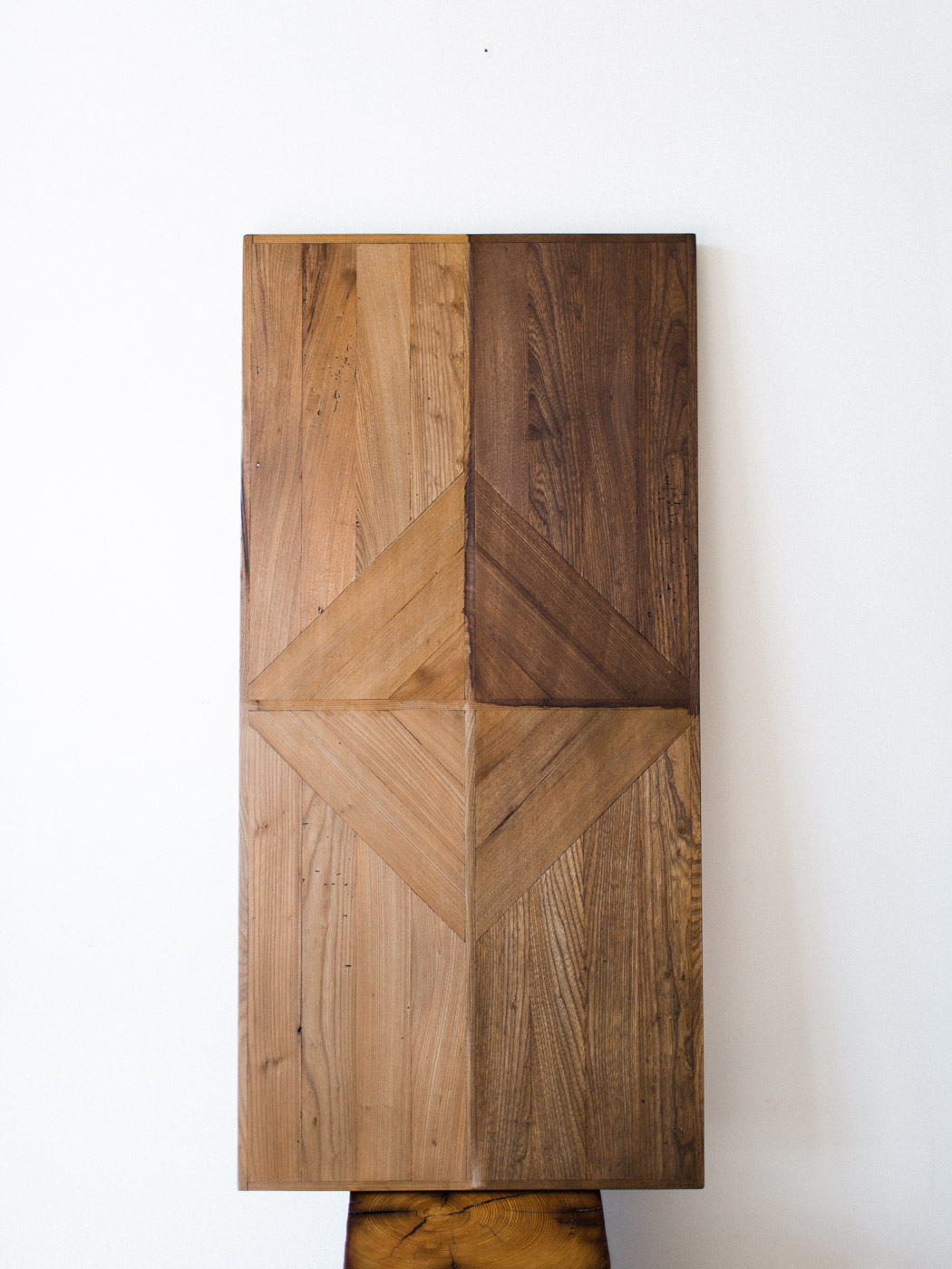 BeReclaimed - Reclaimed Wood Artpiece - Elm Salvaged from a Barn in Goderich Ontario.jpg