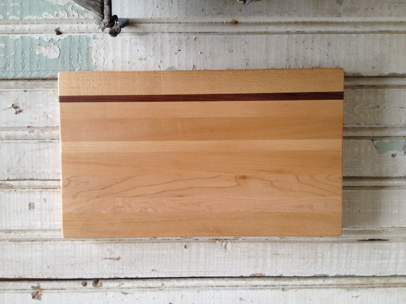 BeReclaimed - Reclaimed Wood Cutting Board - Maple and Cuban Mahogany.jpg