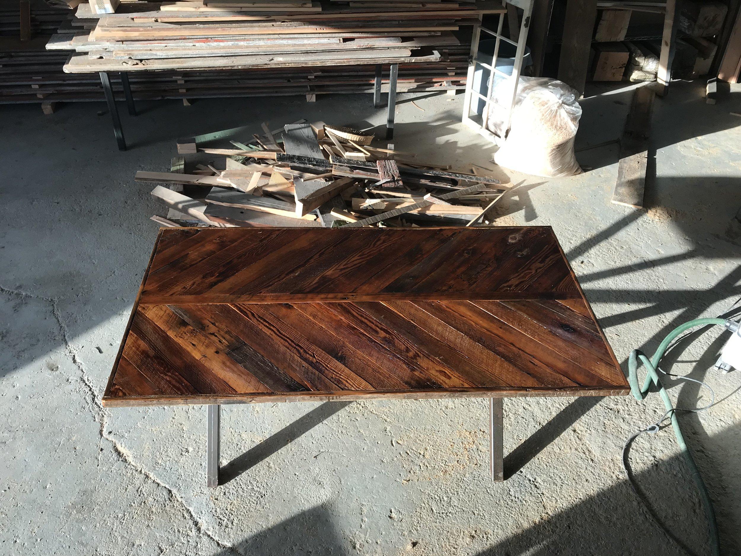 BeReclaimed - Reclaimed Wood Furniture - Brown Barnboard - Varnished.jpg