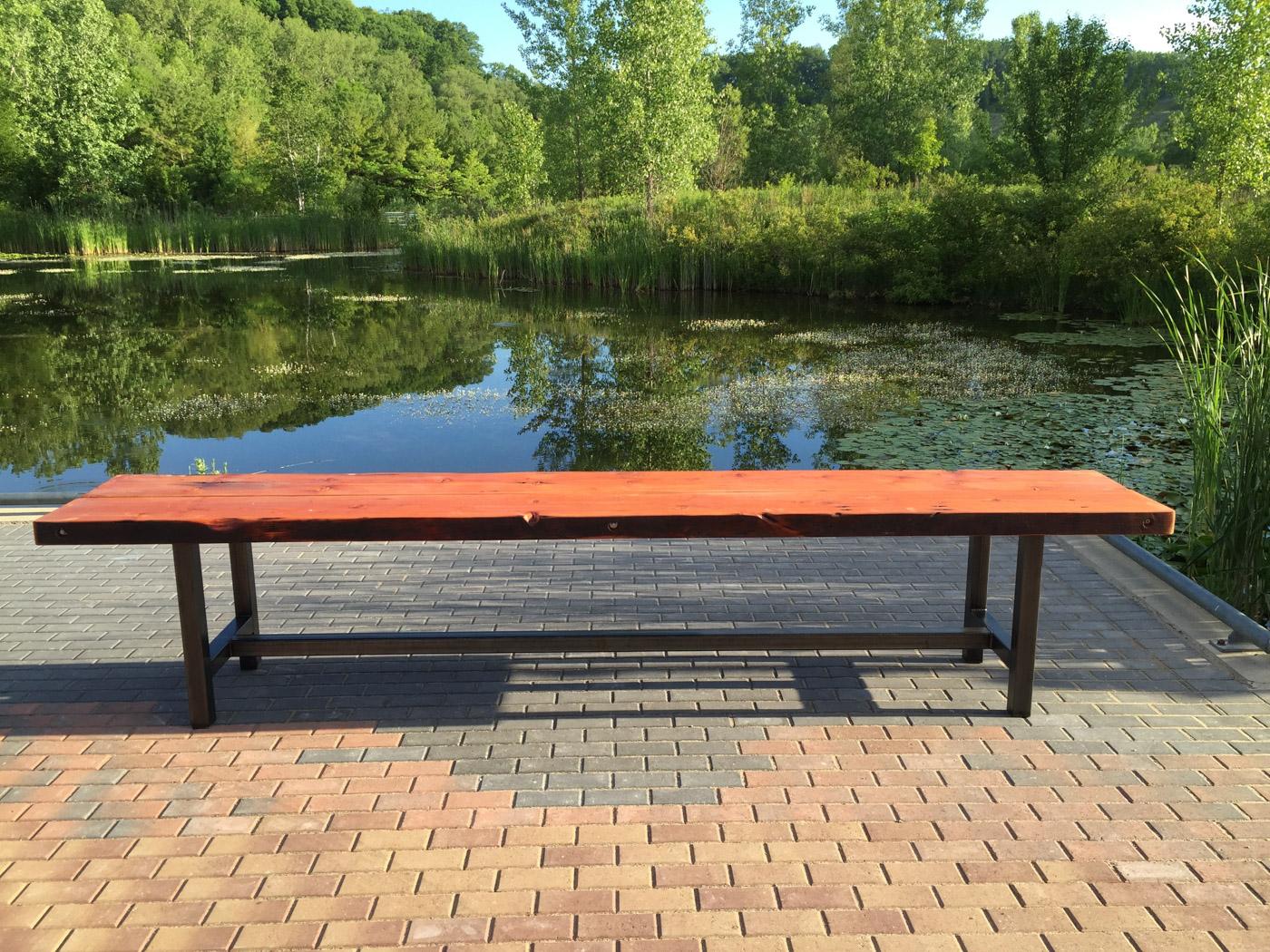 BeReclaimed - Reclaimed Wood Table - Bespoke Douglas Fir Picnic Table - Evergreen Brick Works.jpg