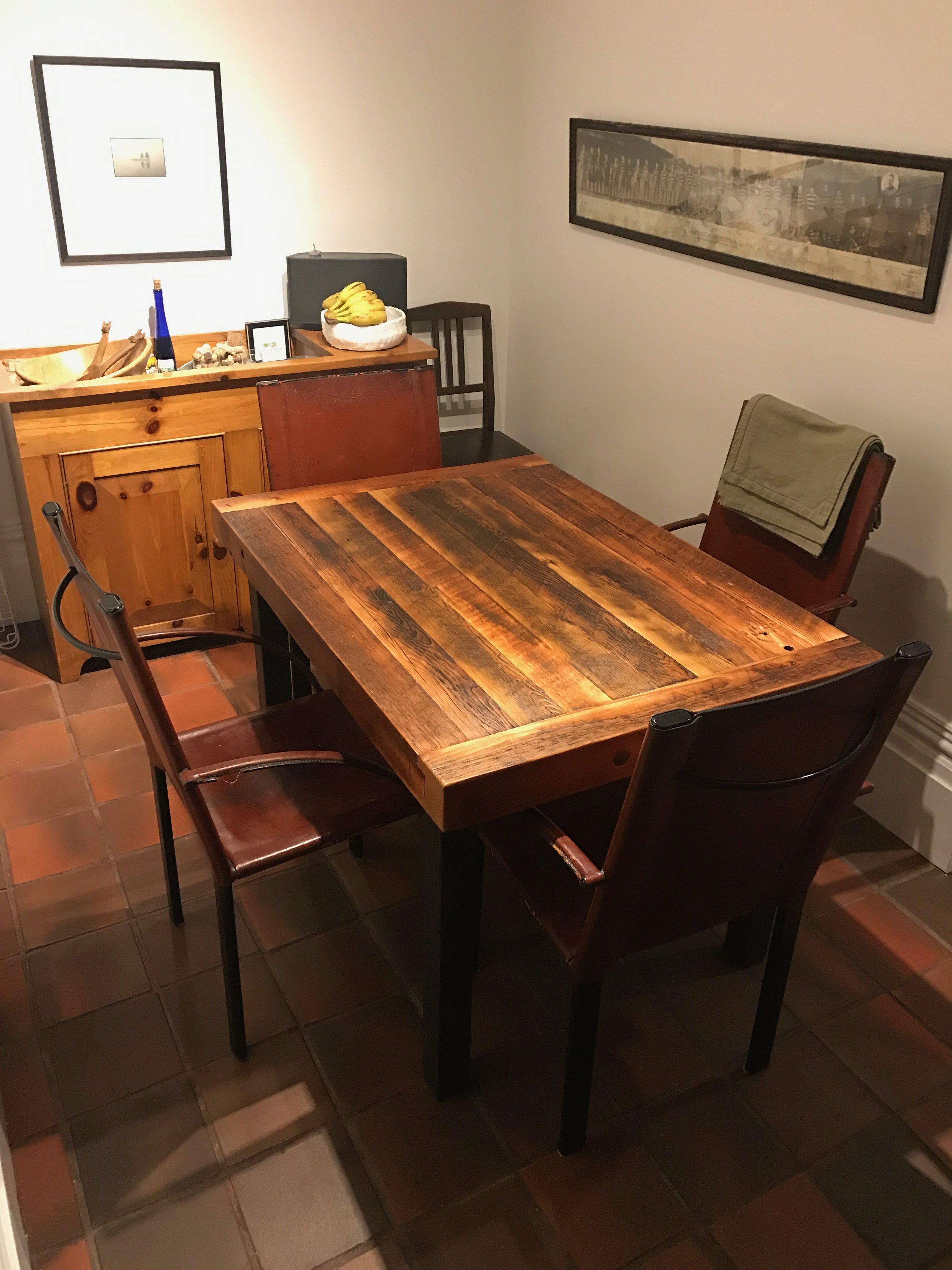 BeReclaimed - Reclaimed Wood Table - Cabbagetown Toronto.jpg