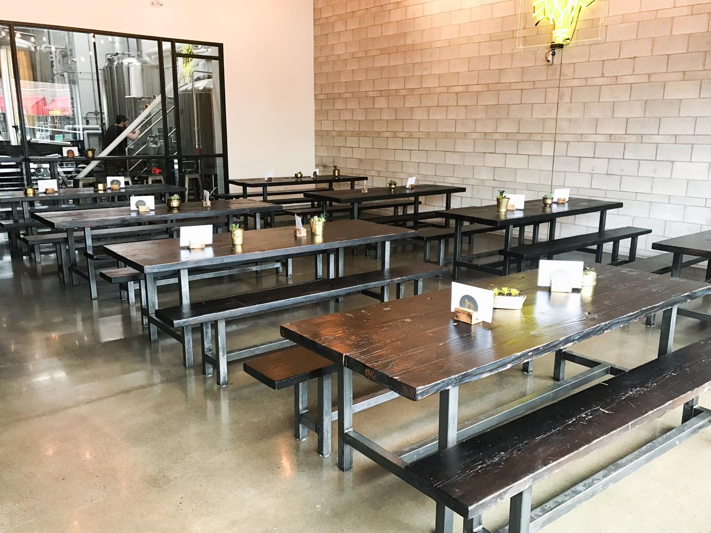BeReclaimed - Reclaimed Wood Table - Merit Brewing - Hamilton Ontario.jpg