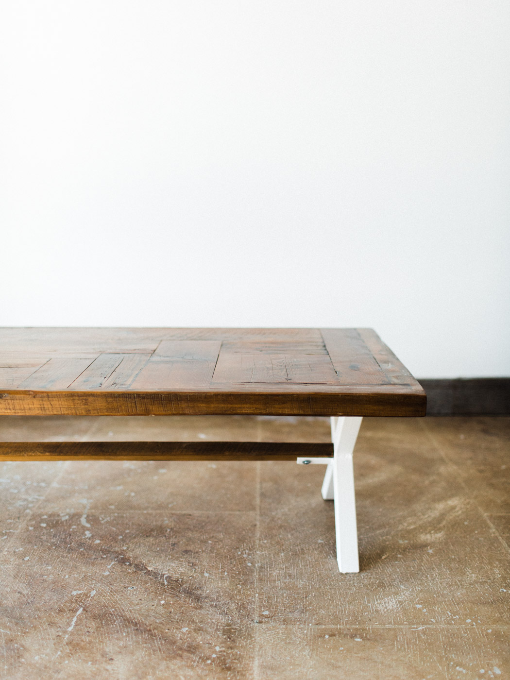 BeReclaimed - Reclaimed Barnboard Coffee Table - Custom Steel Frame - Collingwood.jpg