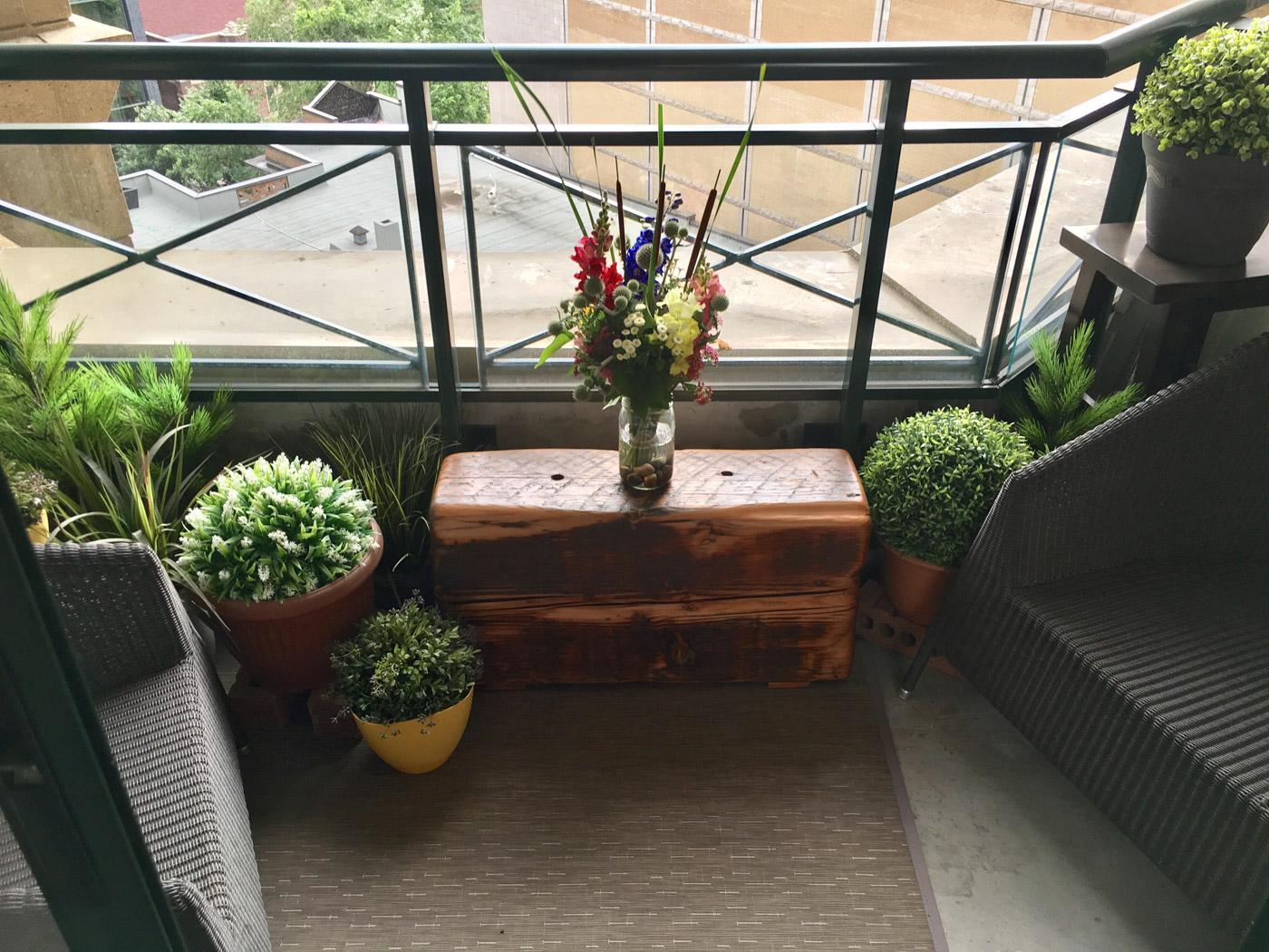 BeReclaimed - Reclaimed Wood Bench - Douglas Fir from Ajax Ontario.jpg