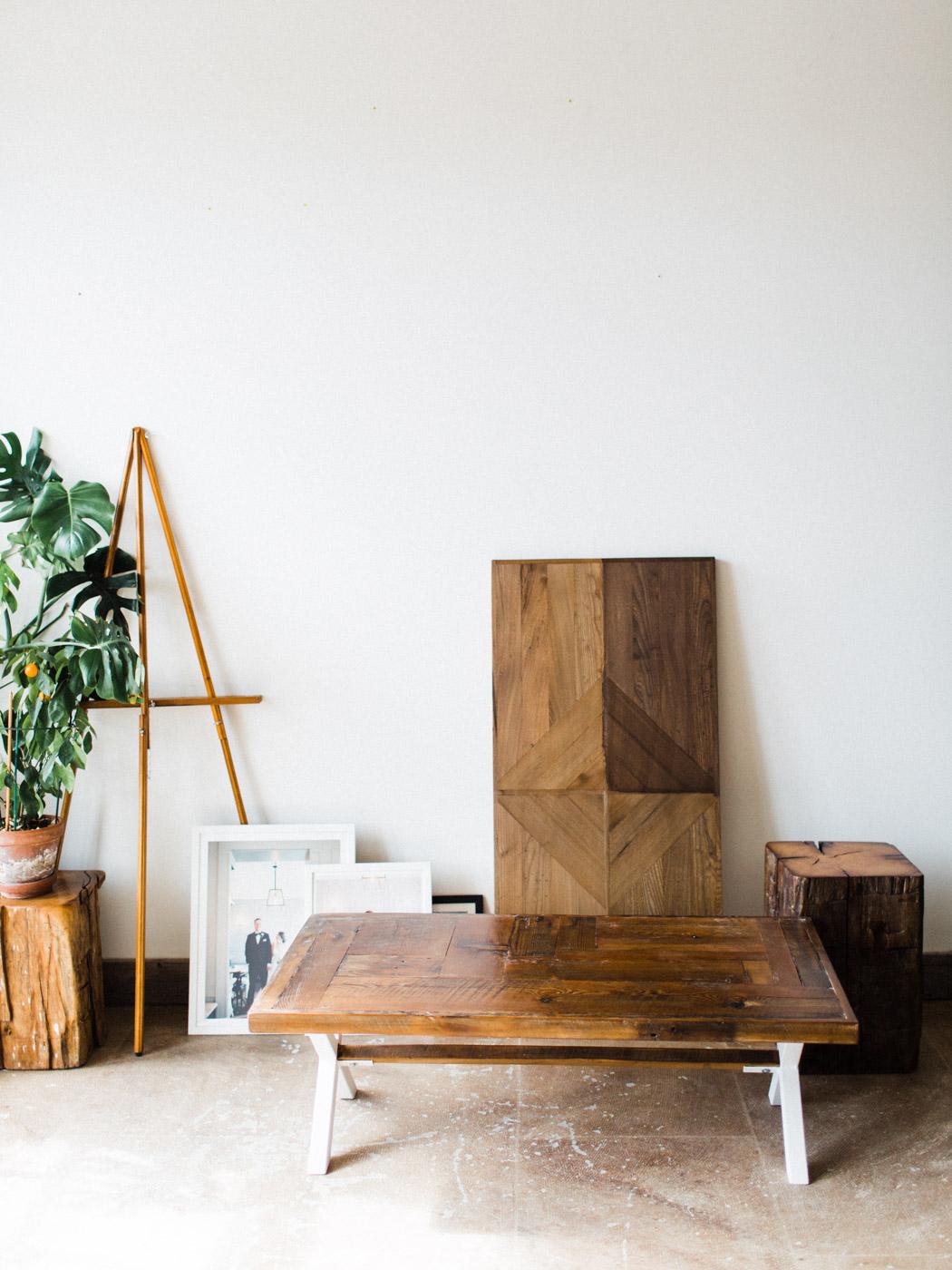 BeReclaimed - Reclaimed Wood Coffee Table - Barnboard - White Legs.jpg