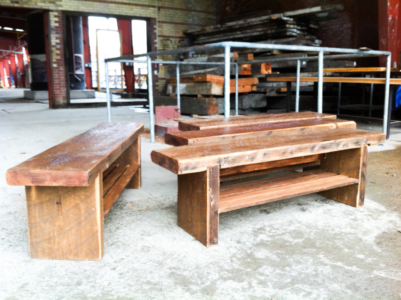 BeReclaimed - Reclaimred Wood Benches - Rustic Douglas Fir - Don Don Izakaya Toronto.jpg
