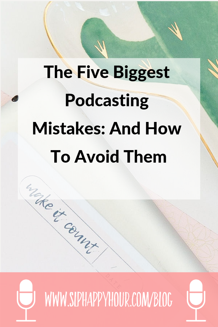 Podcating tips for SLP Podcasts - and all podcasts. What are the biggest podcasting mistakes? How can you avoid them! #slpeeps #podcast