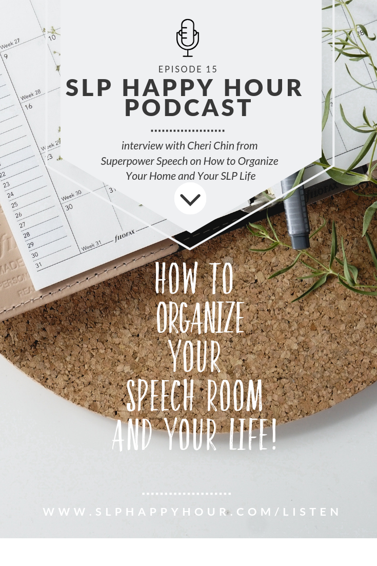 In an interview with Cheri from Superpower Speech, We discuss how to organize and simplify your speech room. #slpeeps