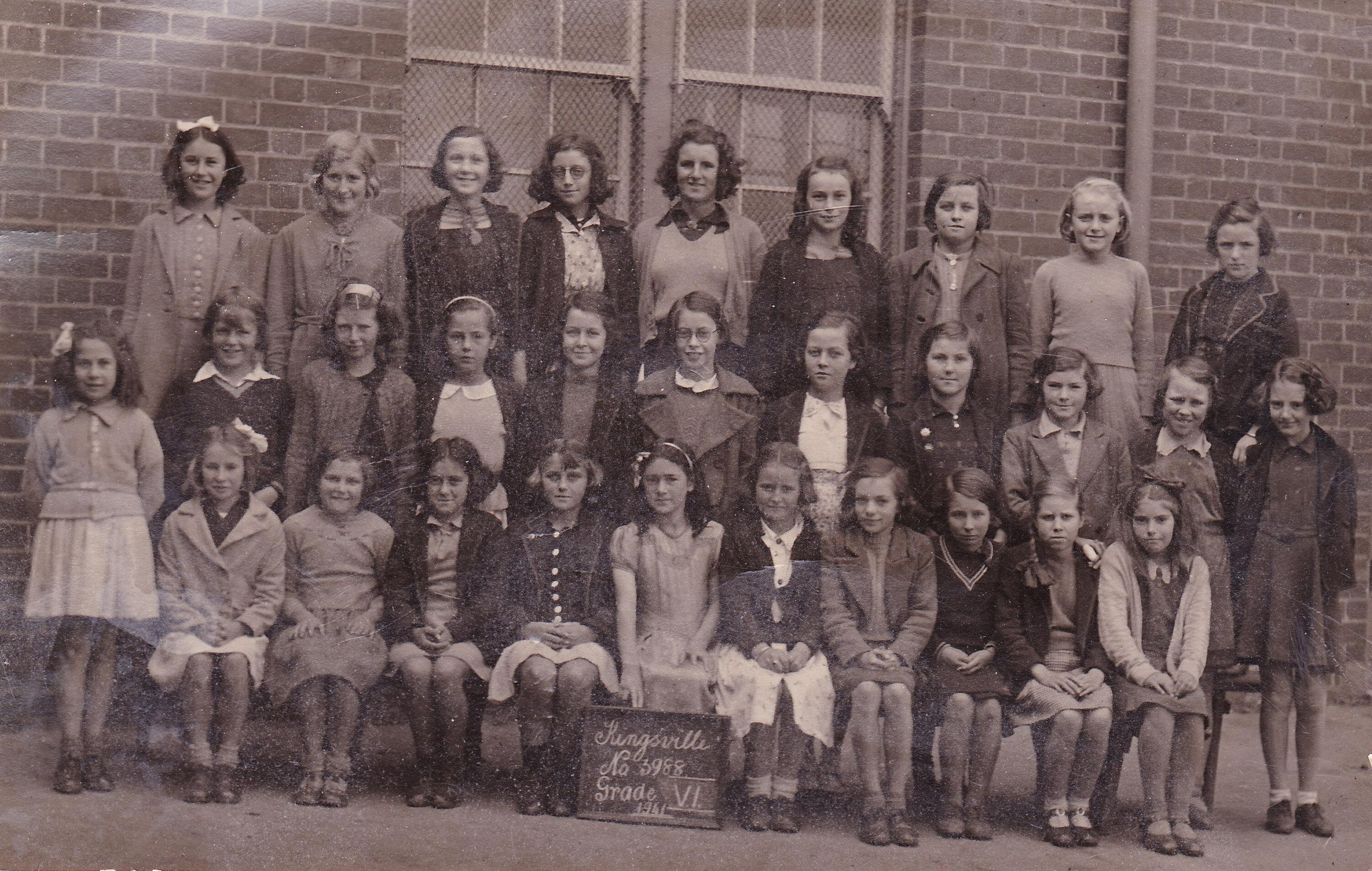 Grade 6, 1941